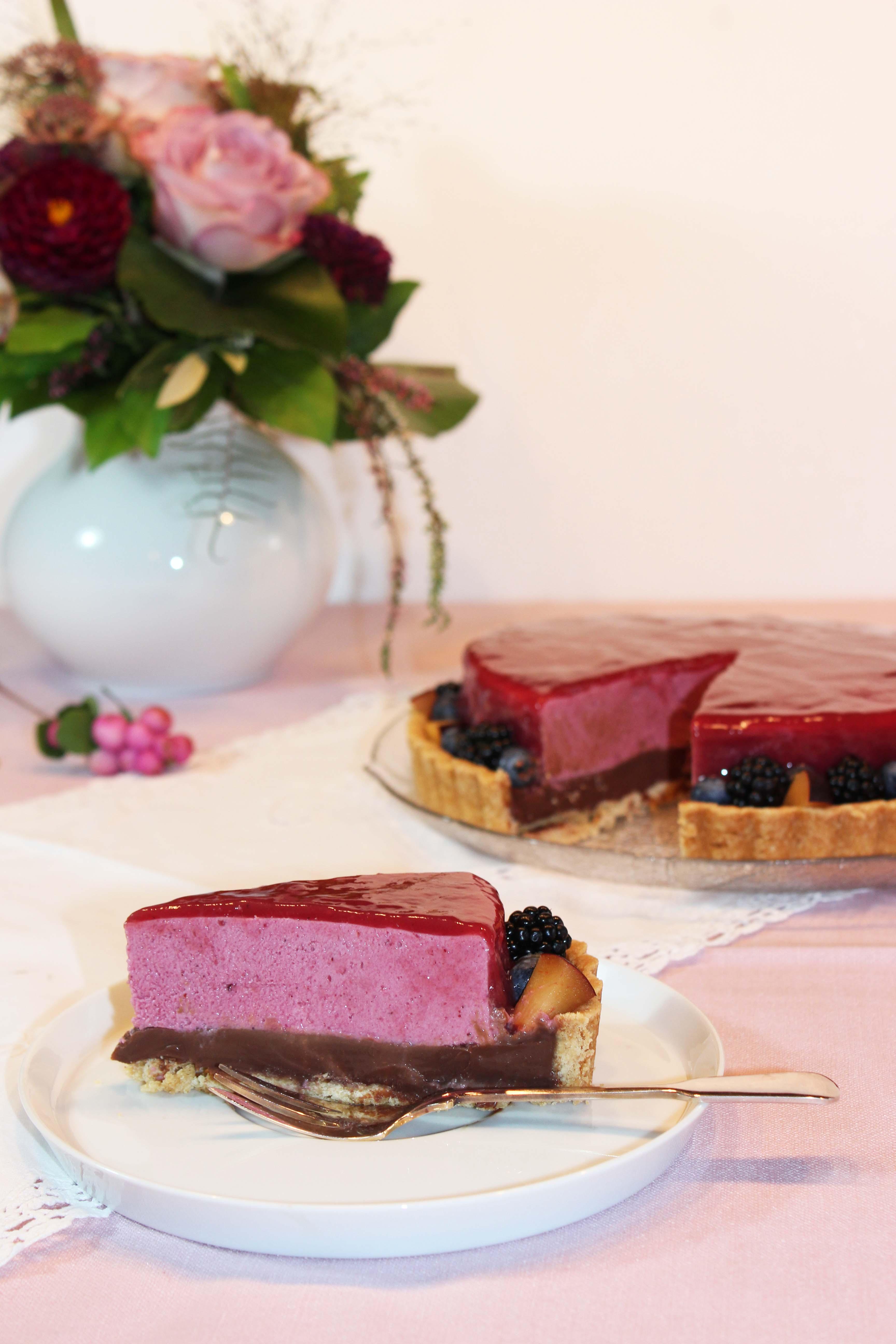 Waldfrucht-Schokoladen-Torte