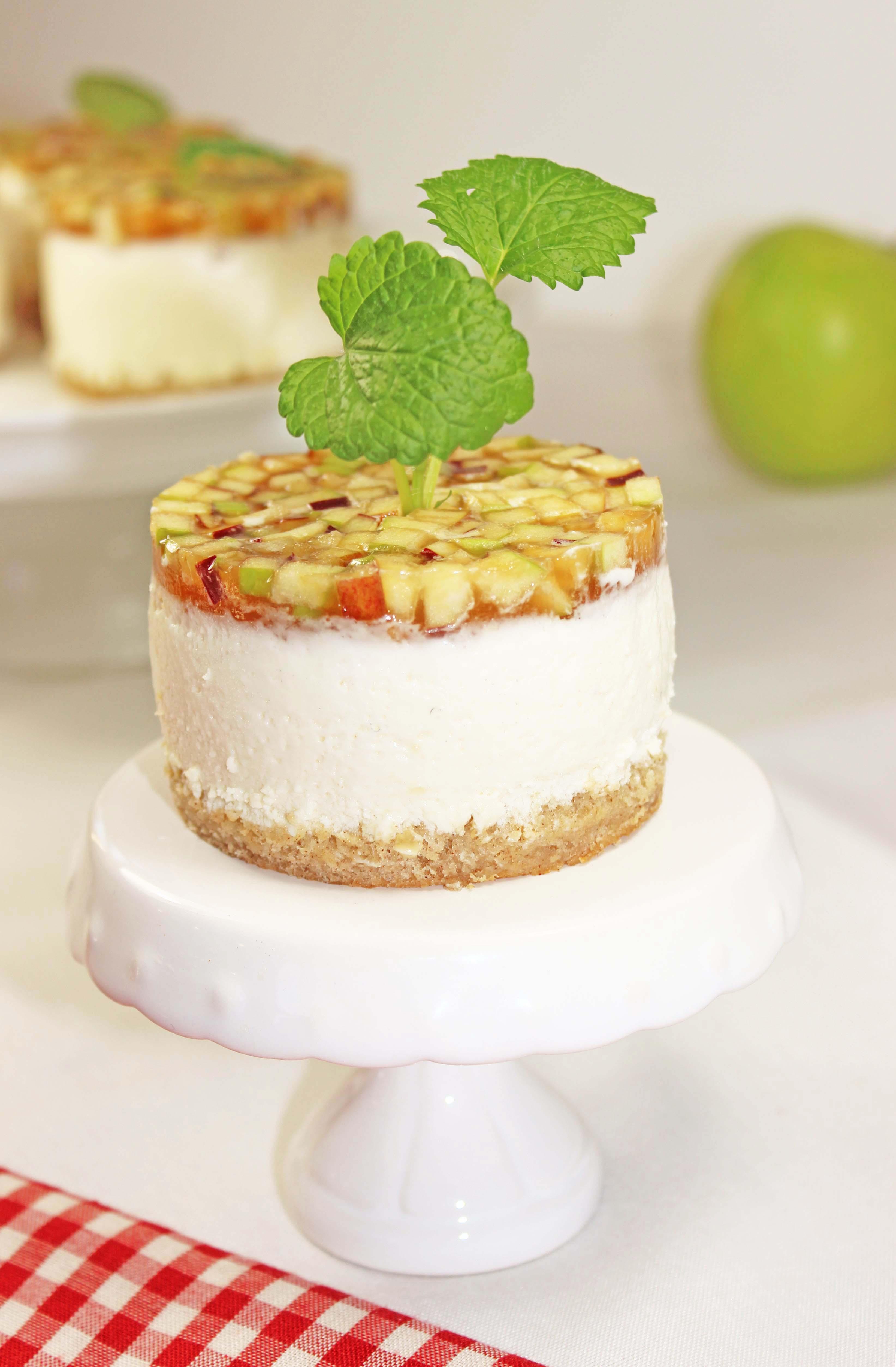 Apfel-Quark Törtchen