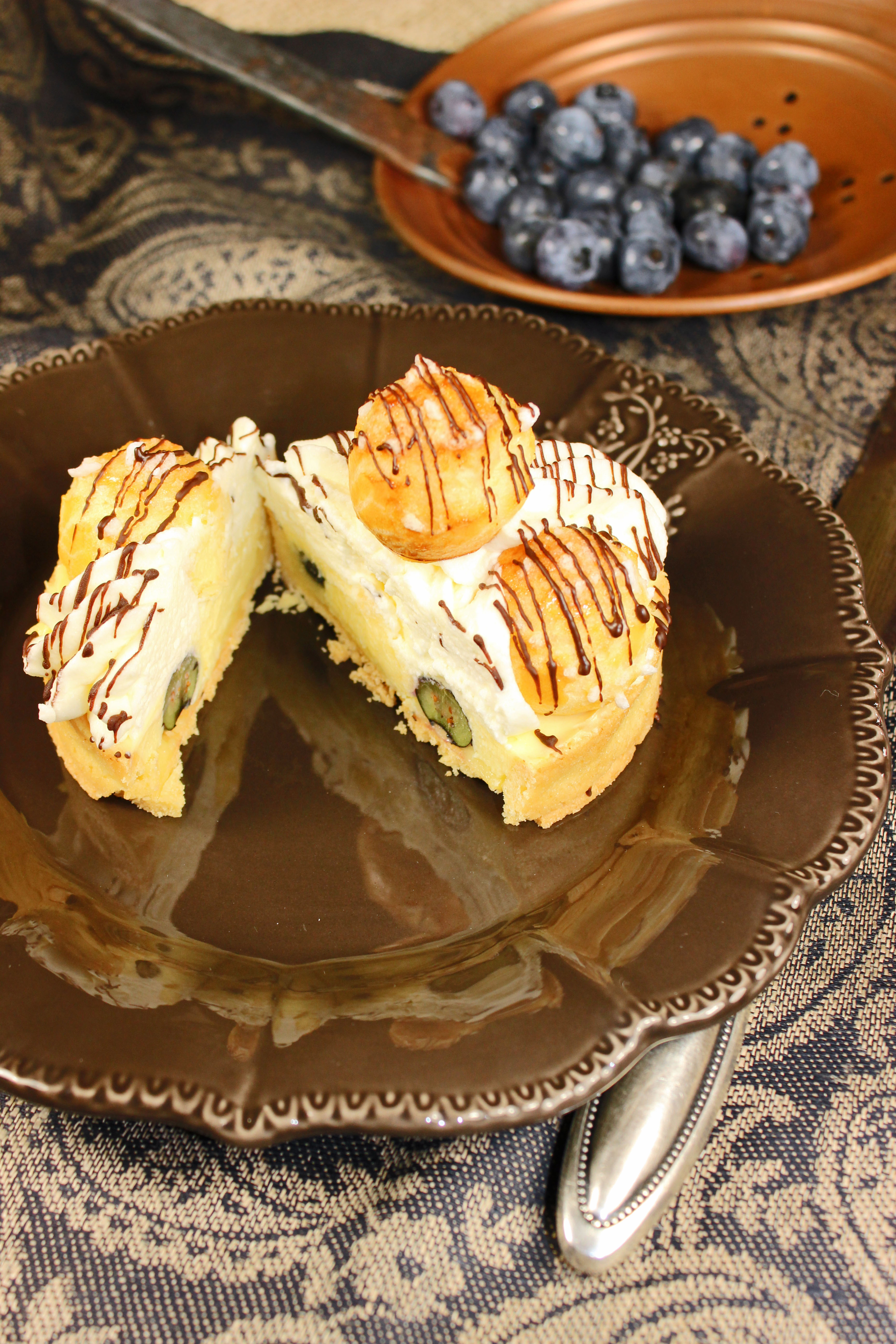 Tartelettes Chouquettes