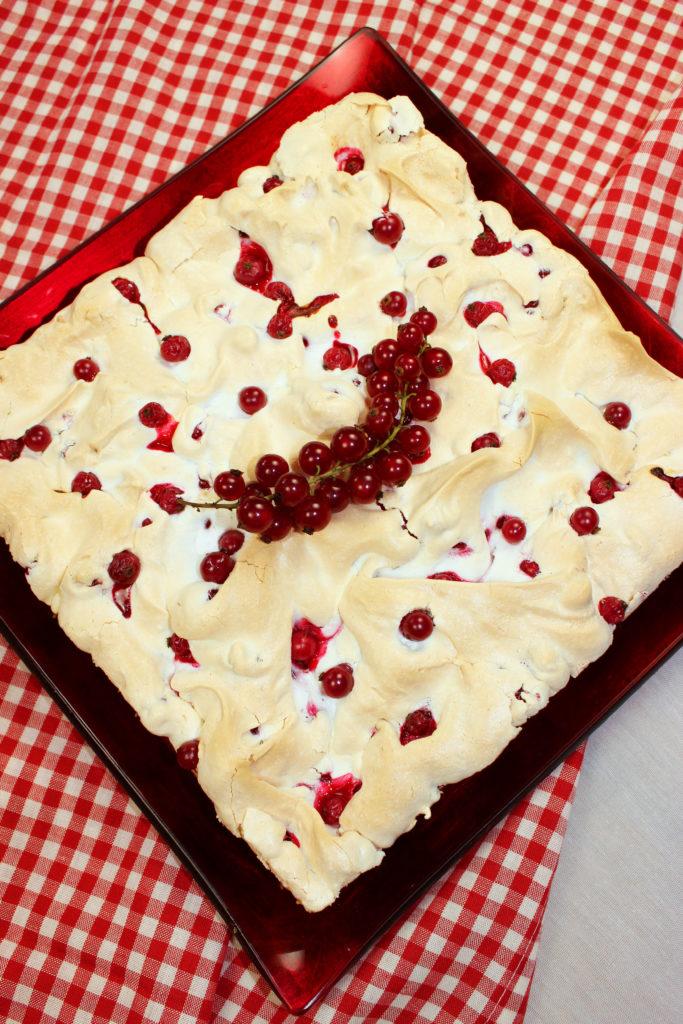 Ein Spat Sommertraum Johannisbeer Baiser Torte Malu S