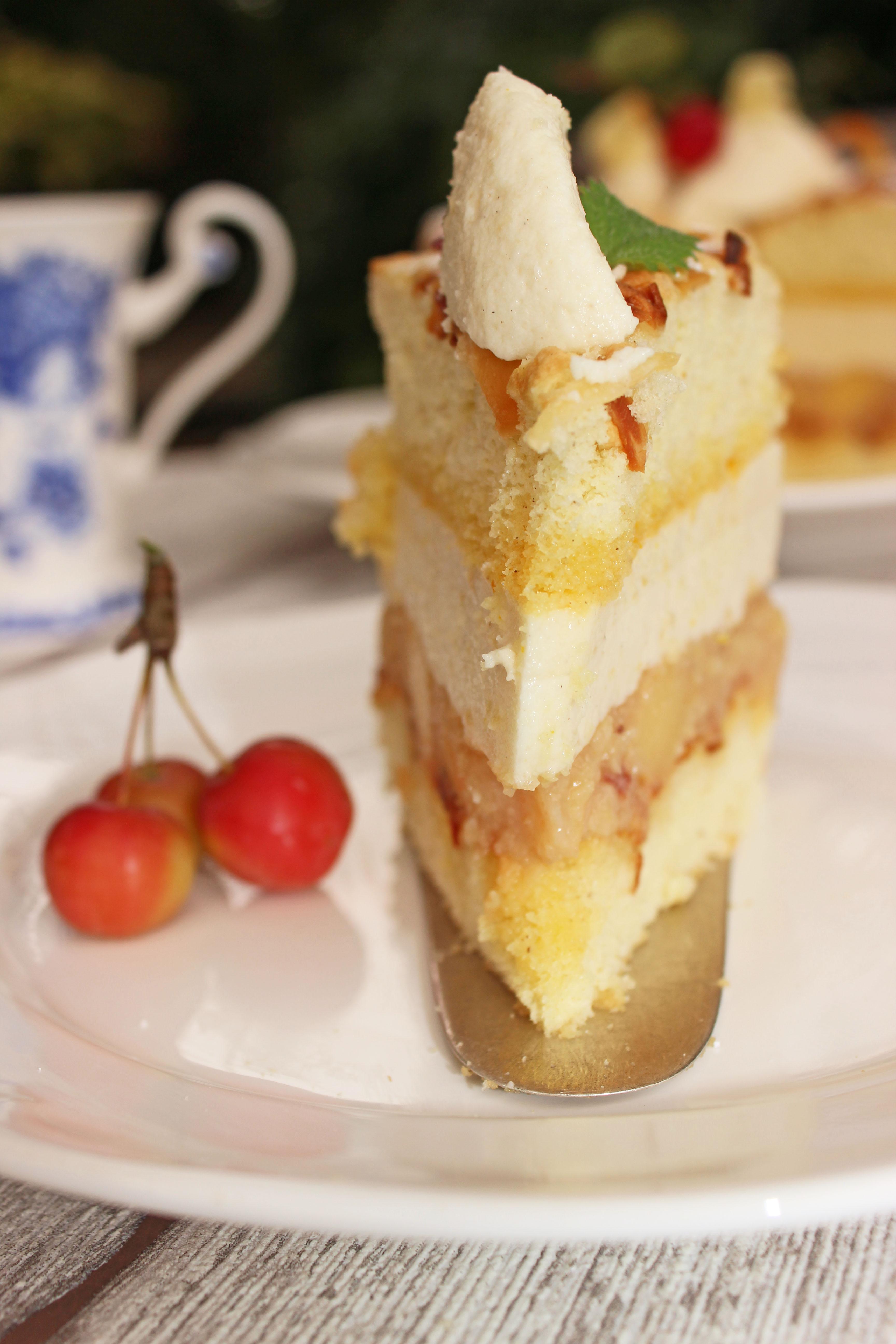Apfel-Quitten-Torte