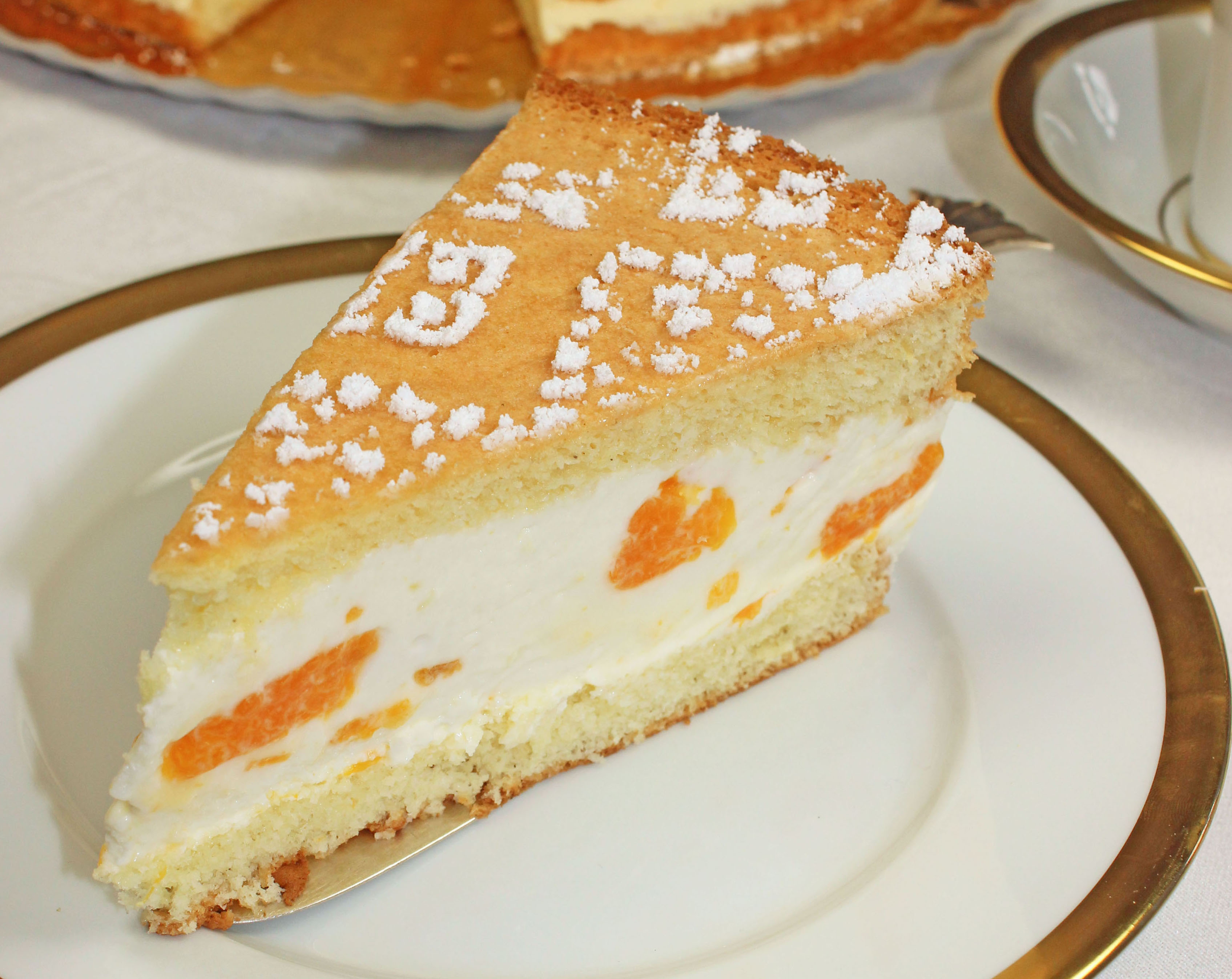 Quark-Mandarinen Torte