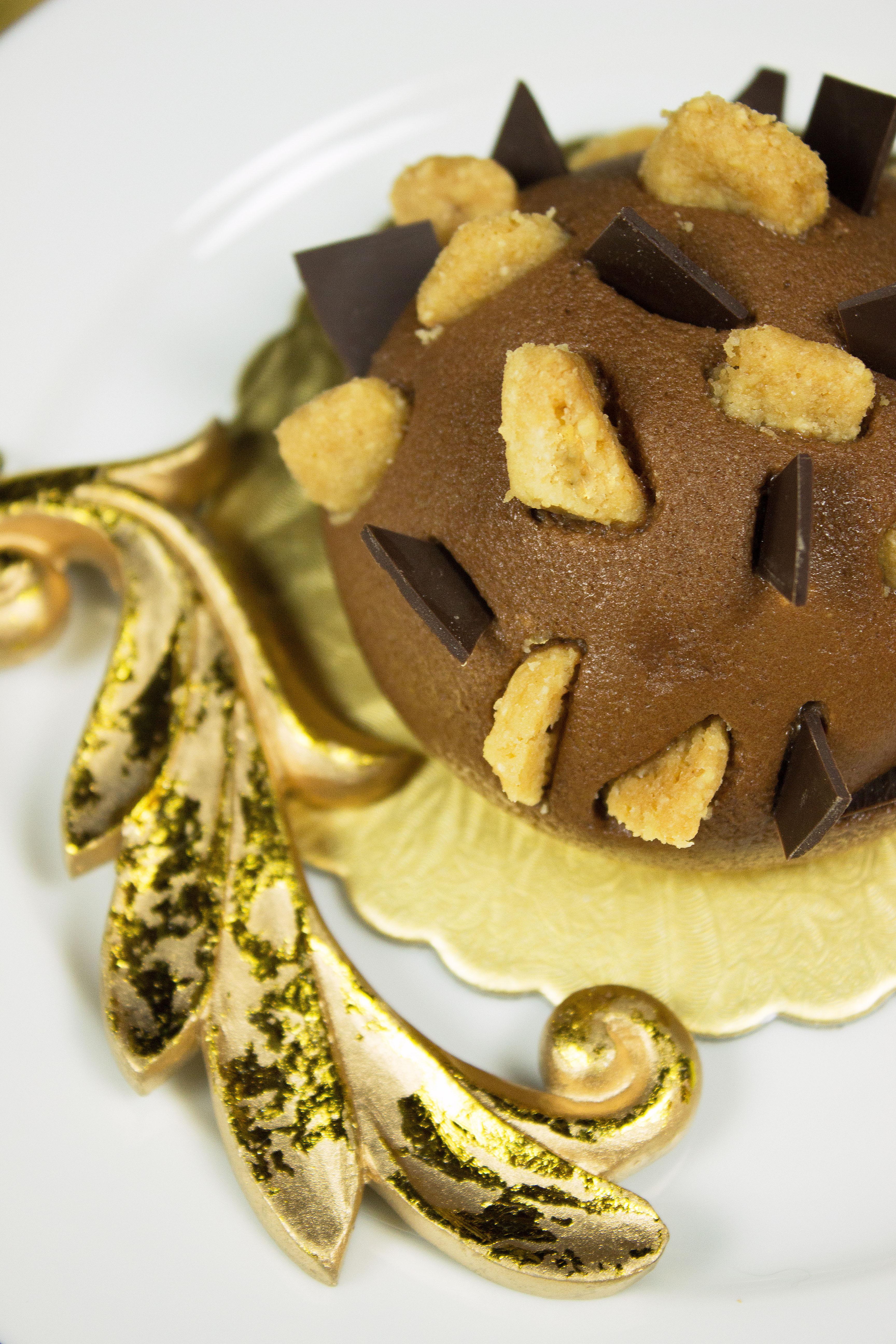 Schoko-Karamelltörtchen mit Crunch