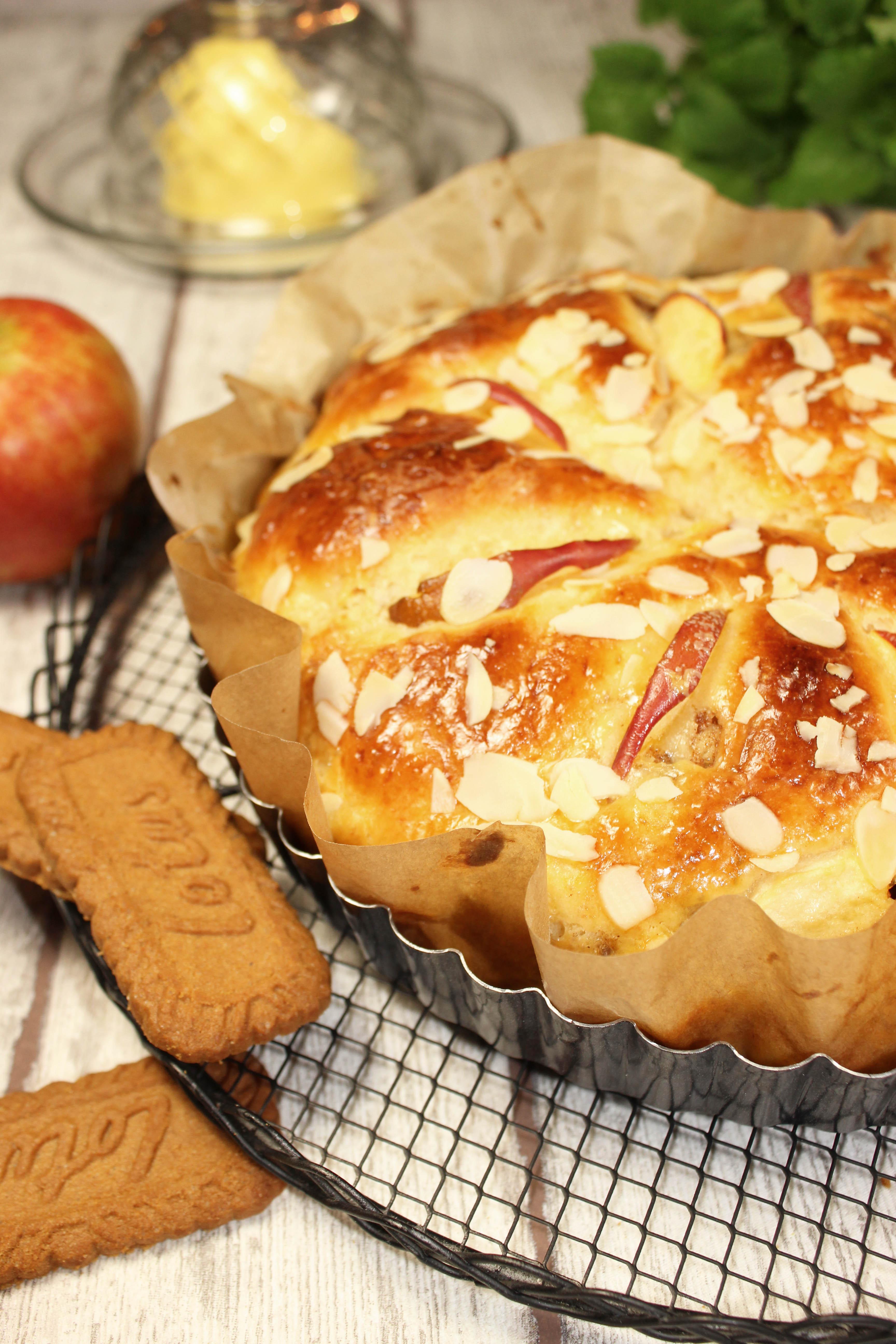 Brioche au pommes