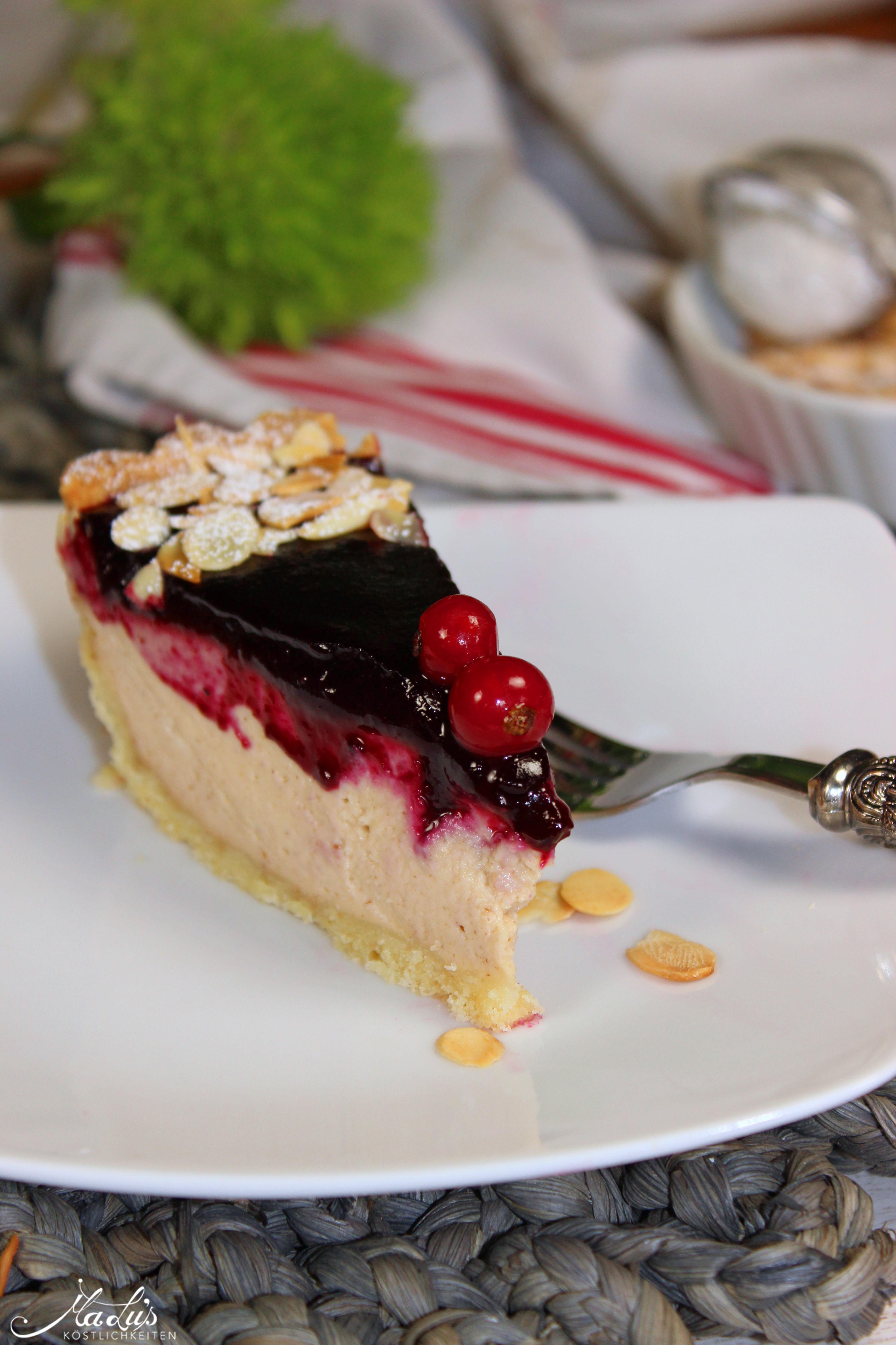 Cheesecake mit Mandelmus