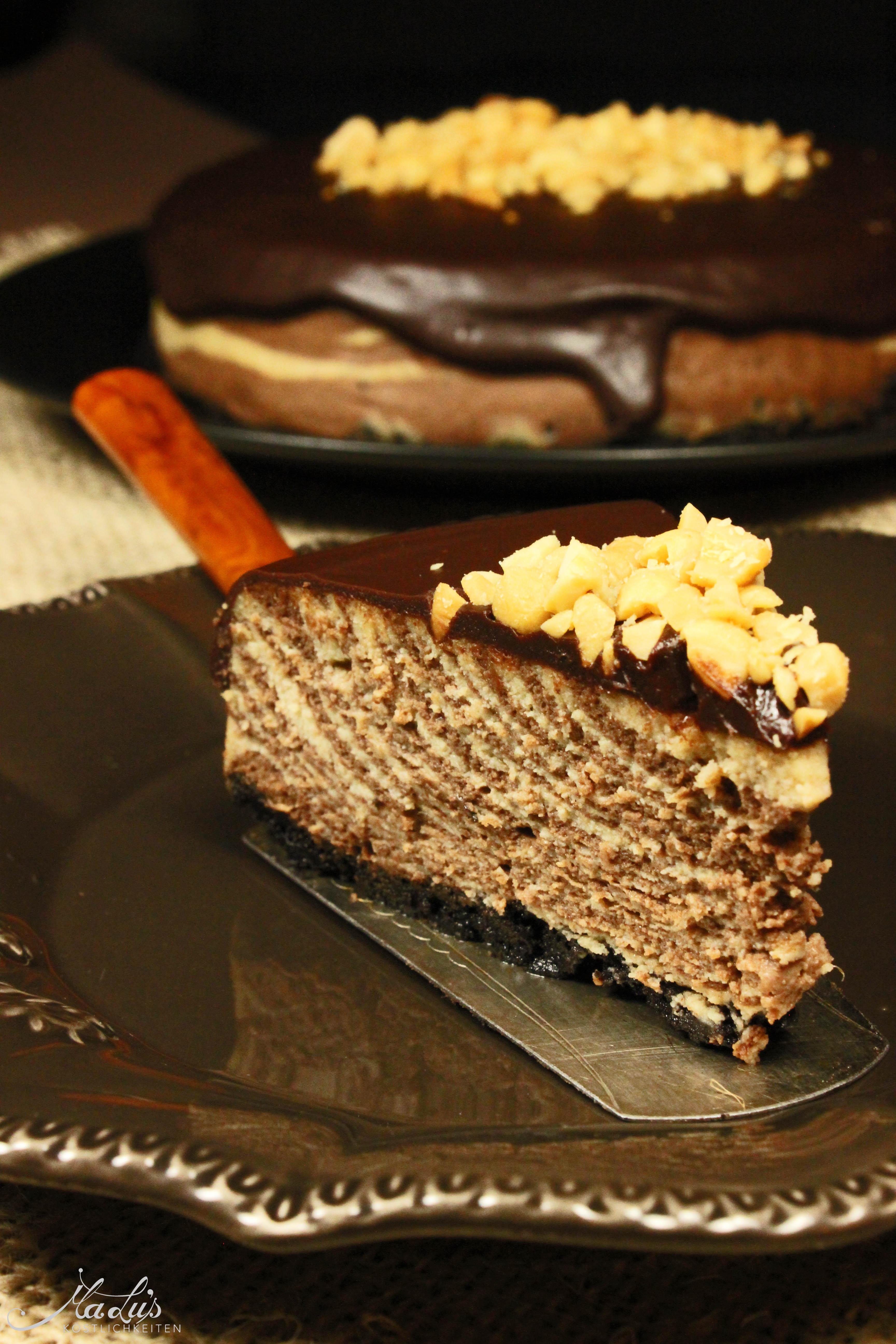 Chocolate-Peanutbutter Cheesecake