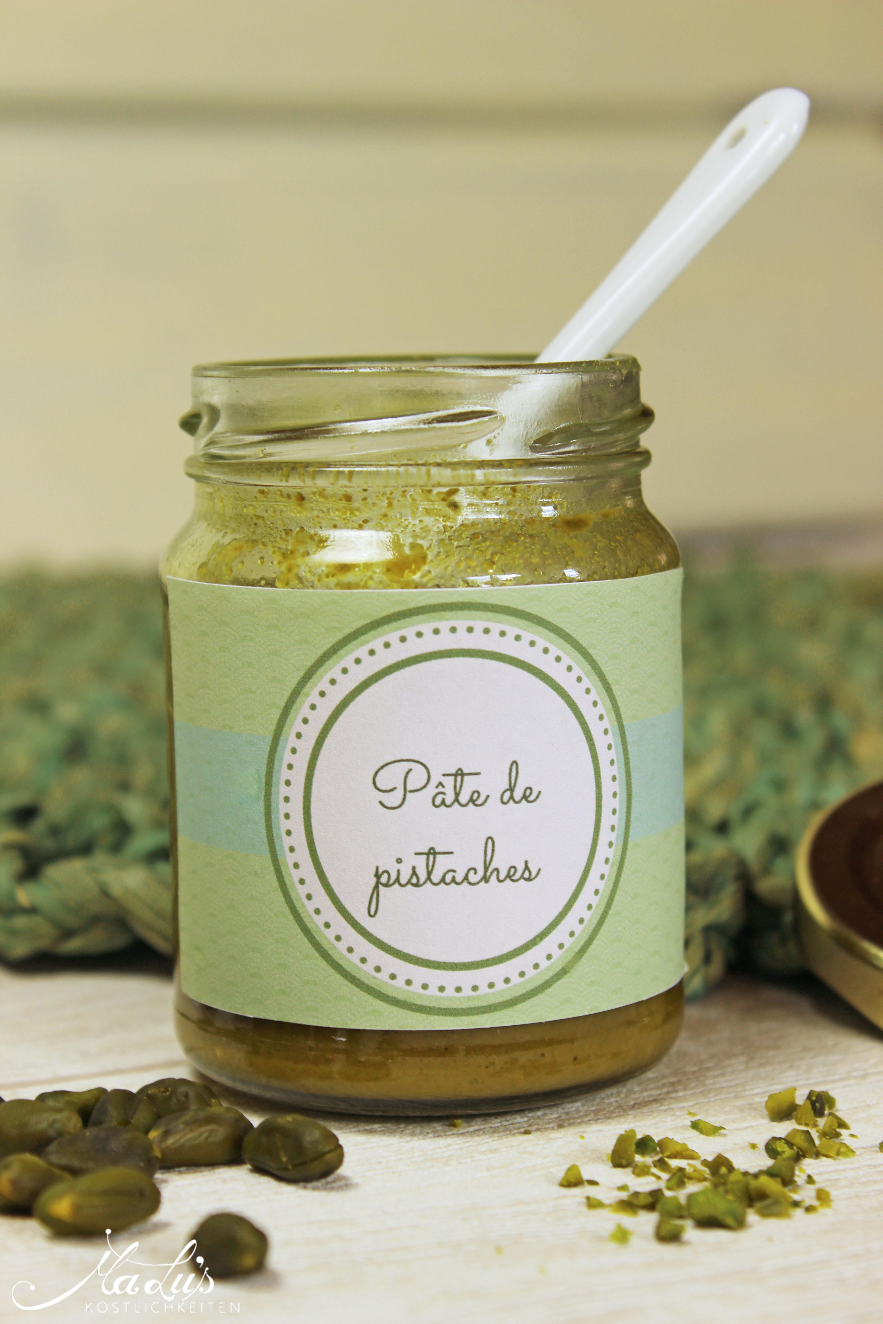 Pistazienpaste - Pâte de pistaches