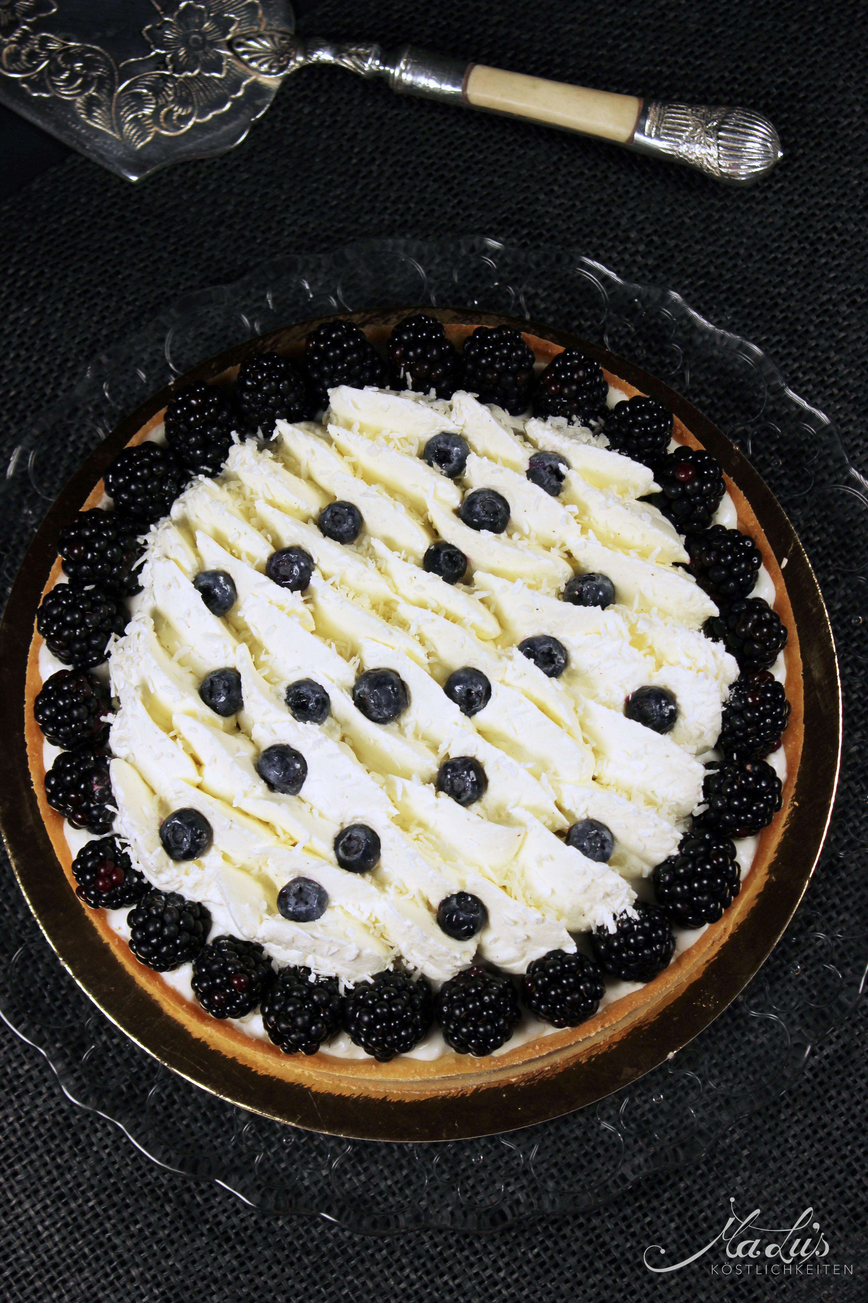Kokos-Beeren Tarte 1