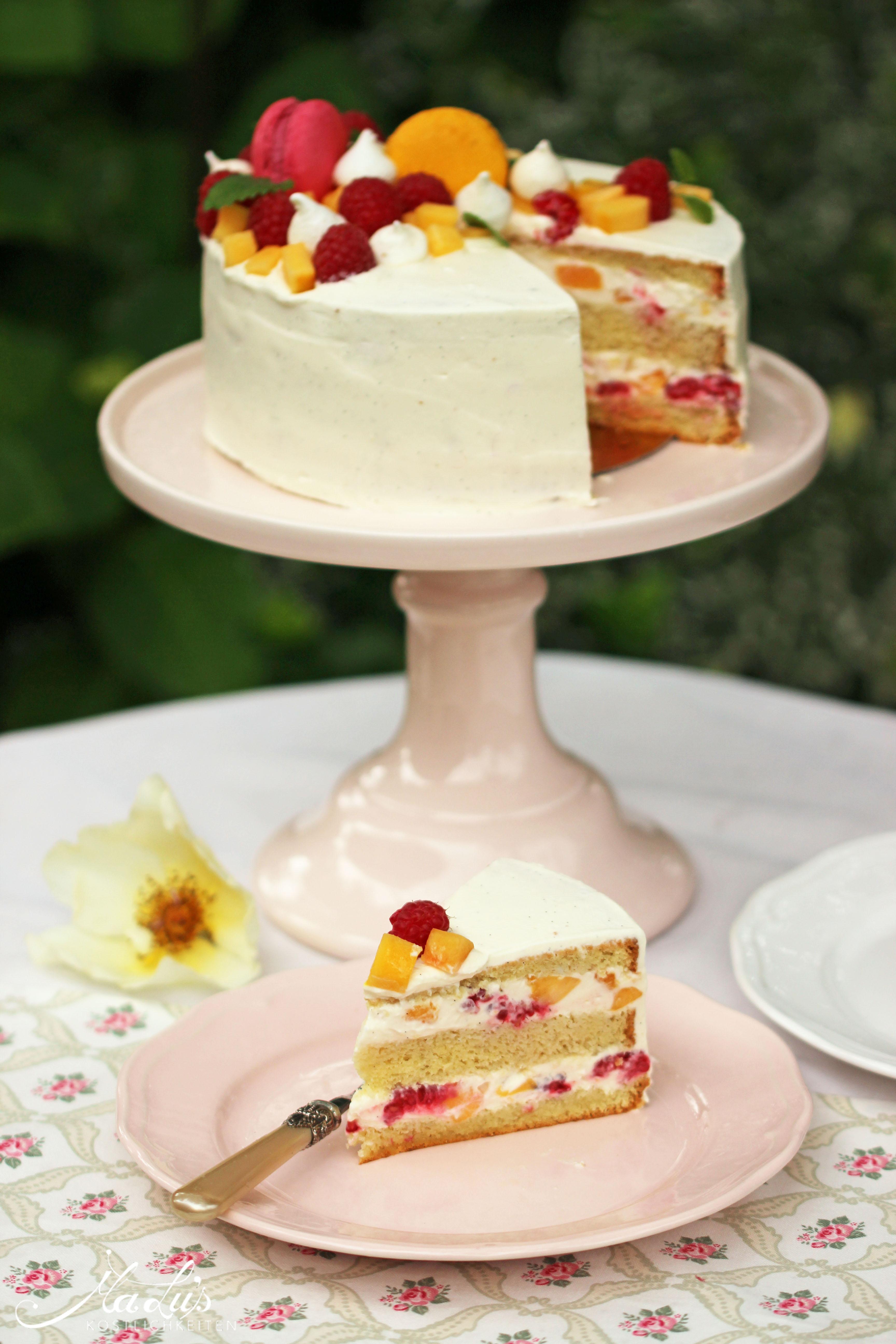 Peach Melba Torte by MaLu's Köstlichkeiten