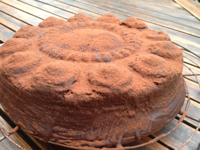 Schokoladenkuchen von Dagmar T. in der Zeeländischen Knopfform // www.zeeland-backform.de