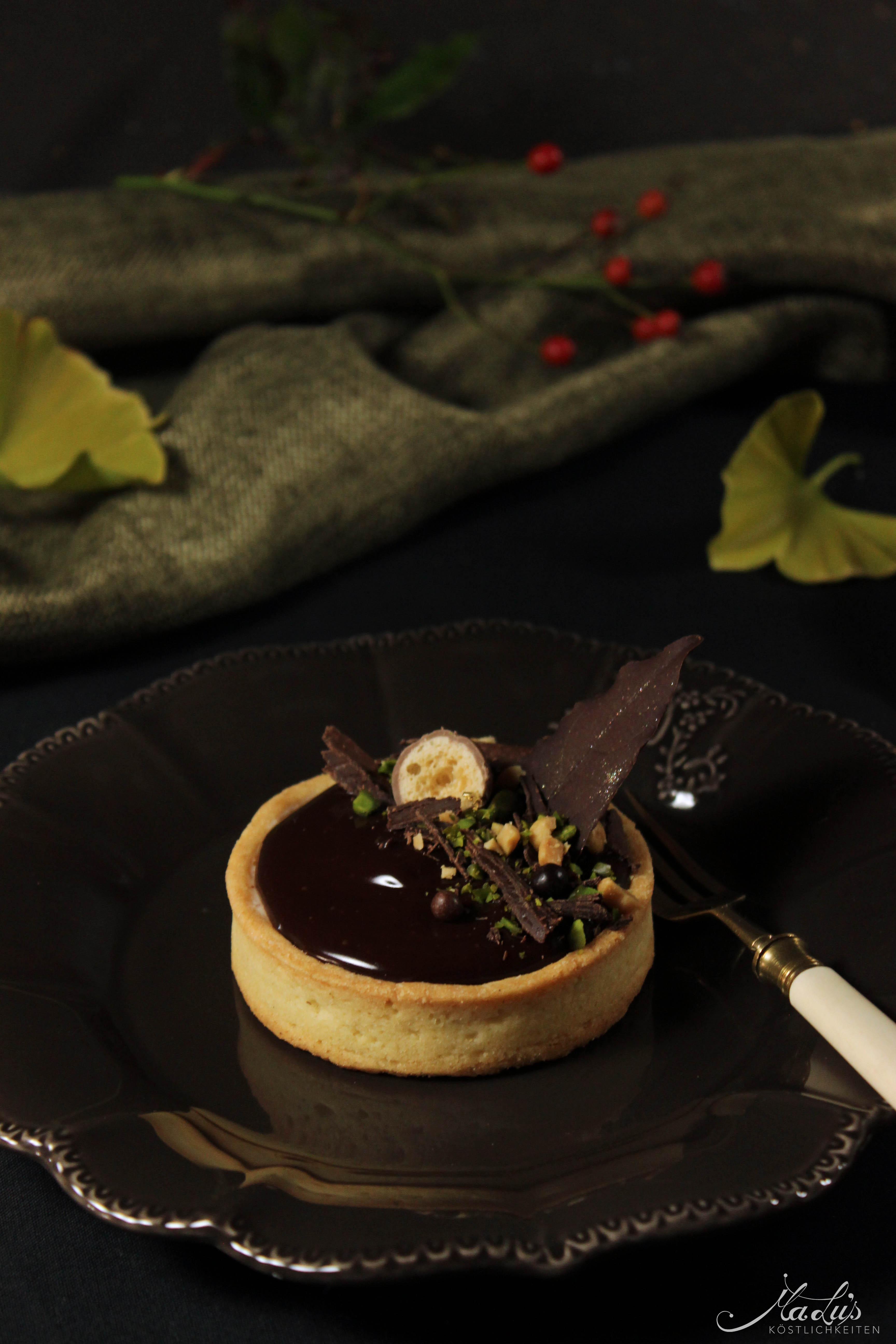 Schoko-Nuss Tartelettes