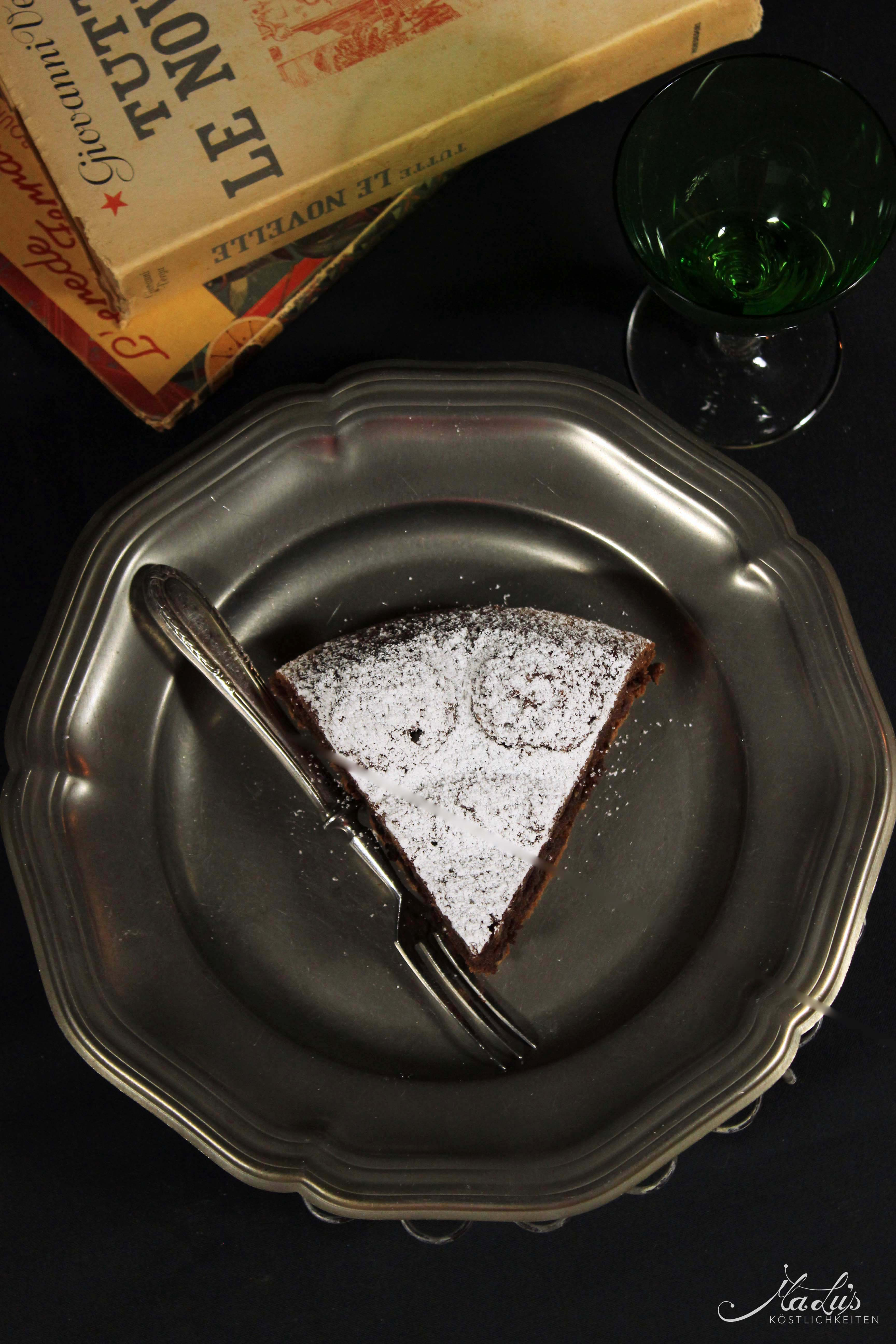 Original italienische Torta Caprese
