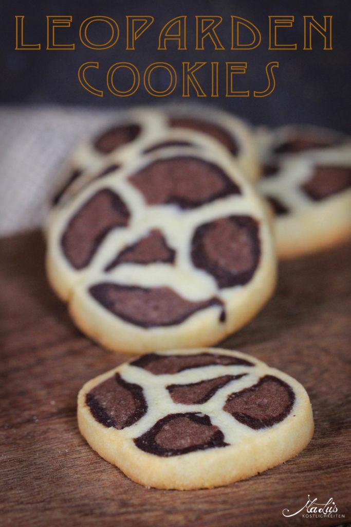 Wilde Weihnachten Leoparden Cookies Malu S Kostlichkeiten