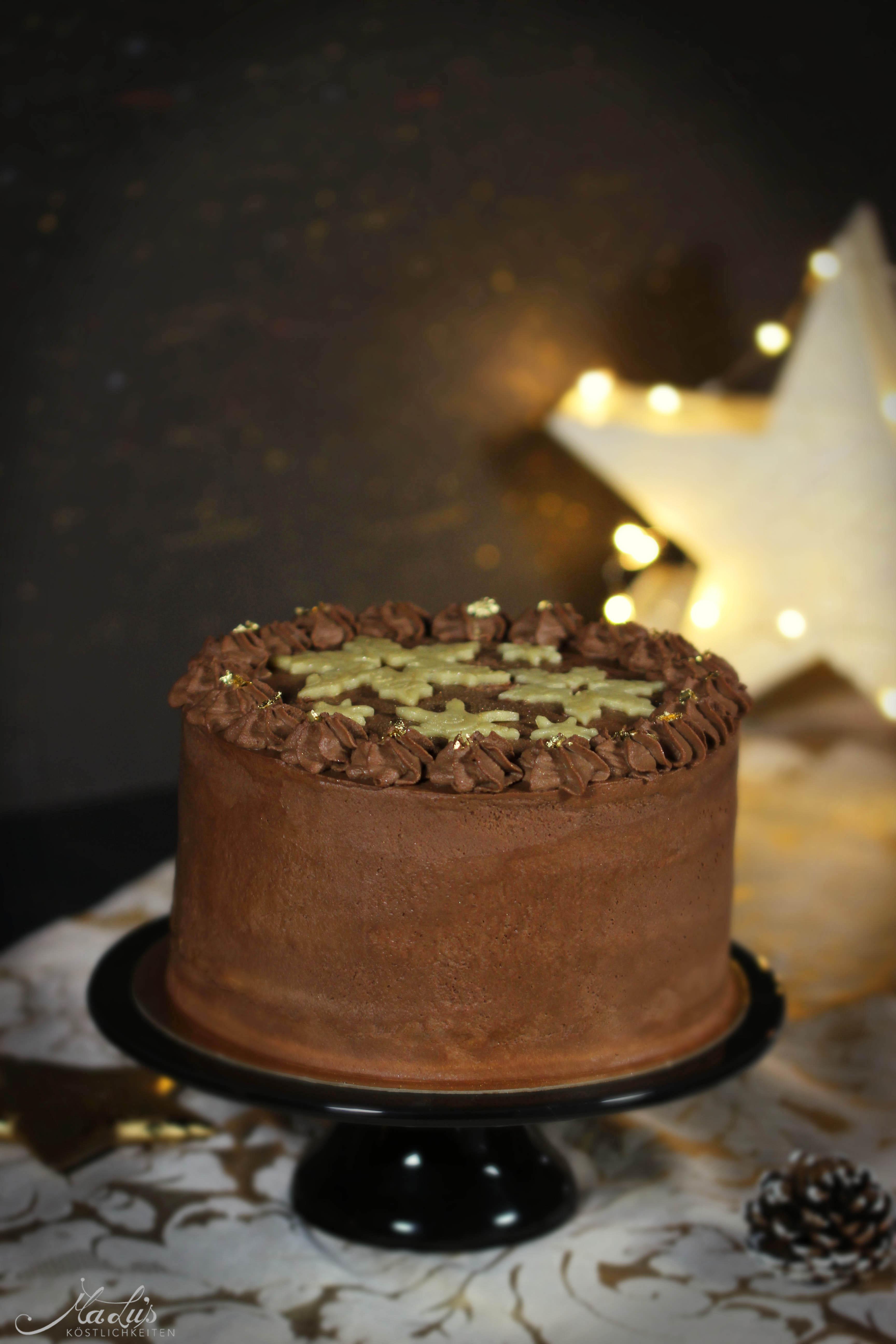 Schoko-Marzipan Torte