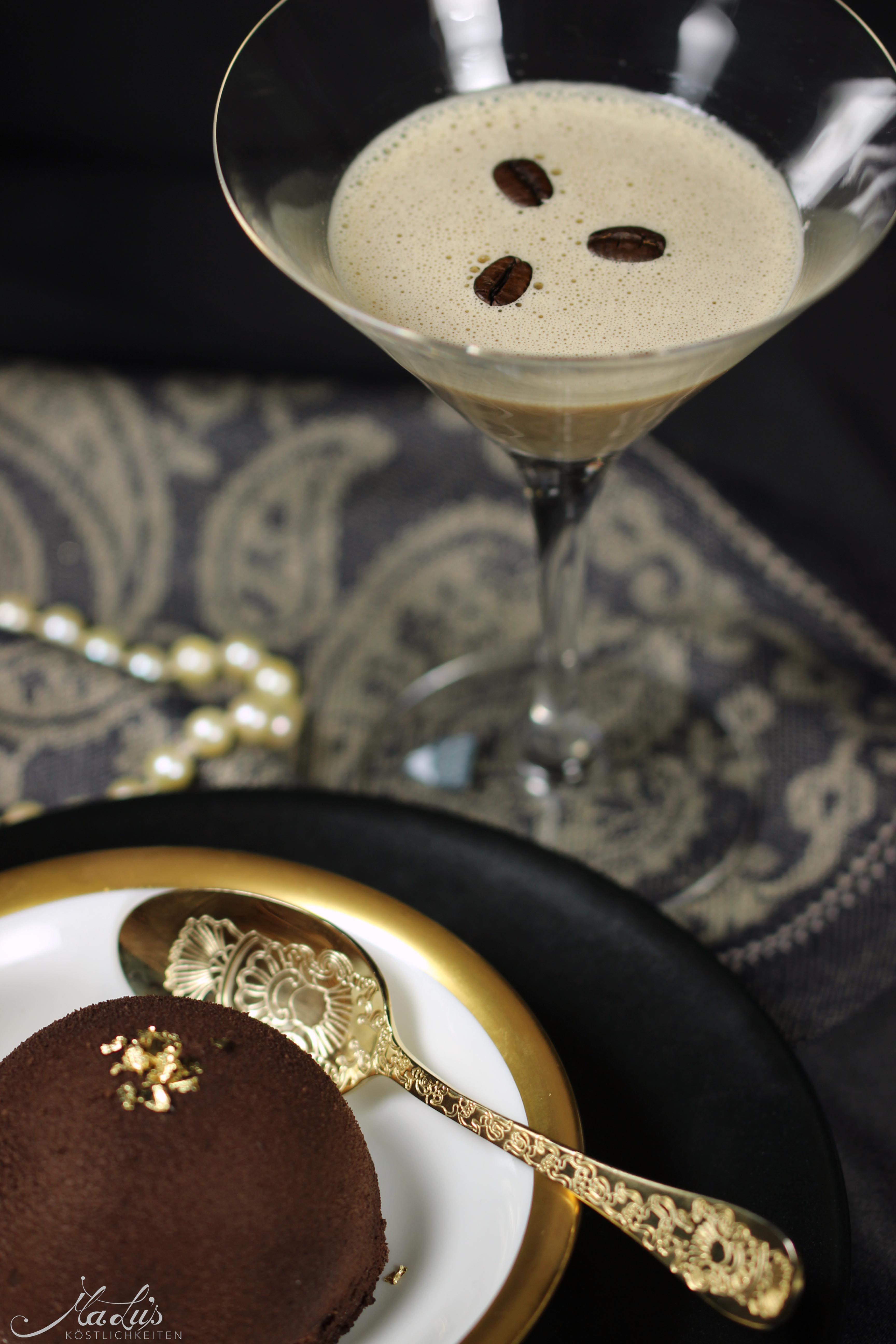 Flat White Martini  & Baileys Dessert Kuppeltörtchen