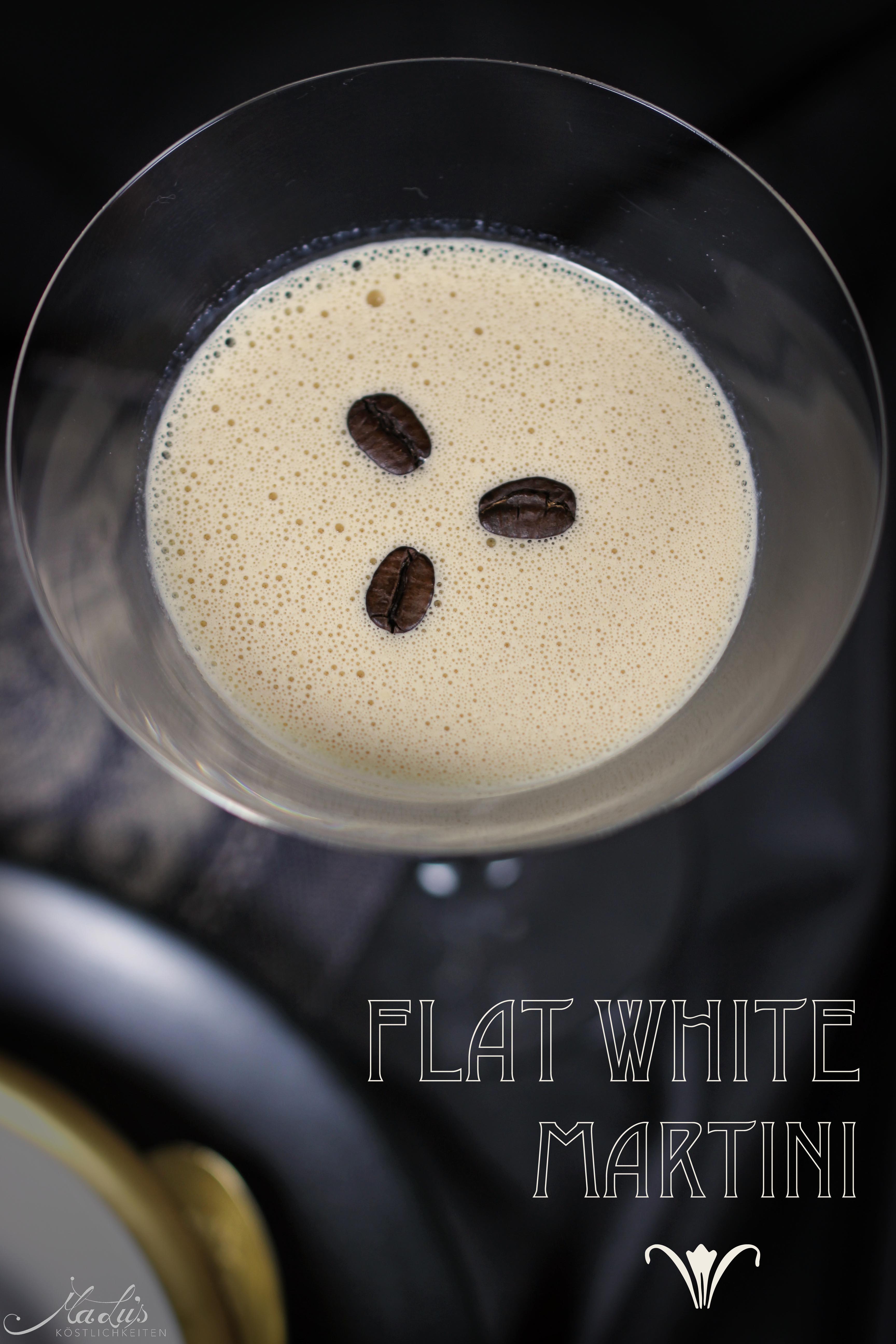Flat White Martini *