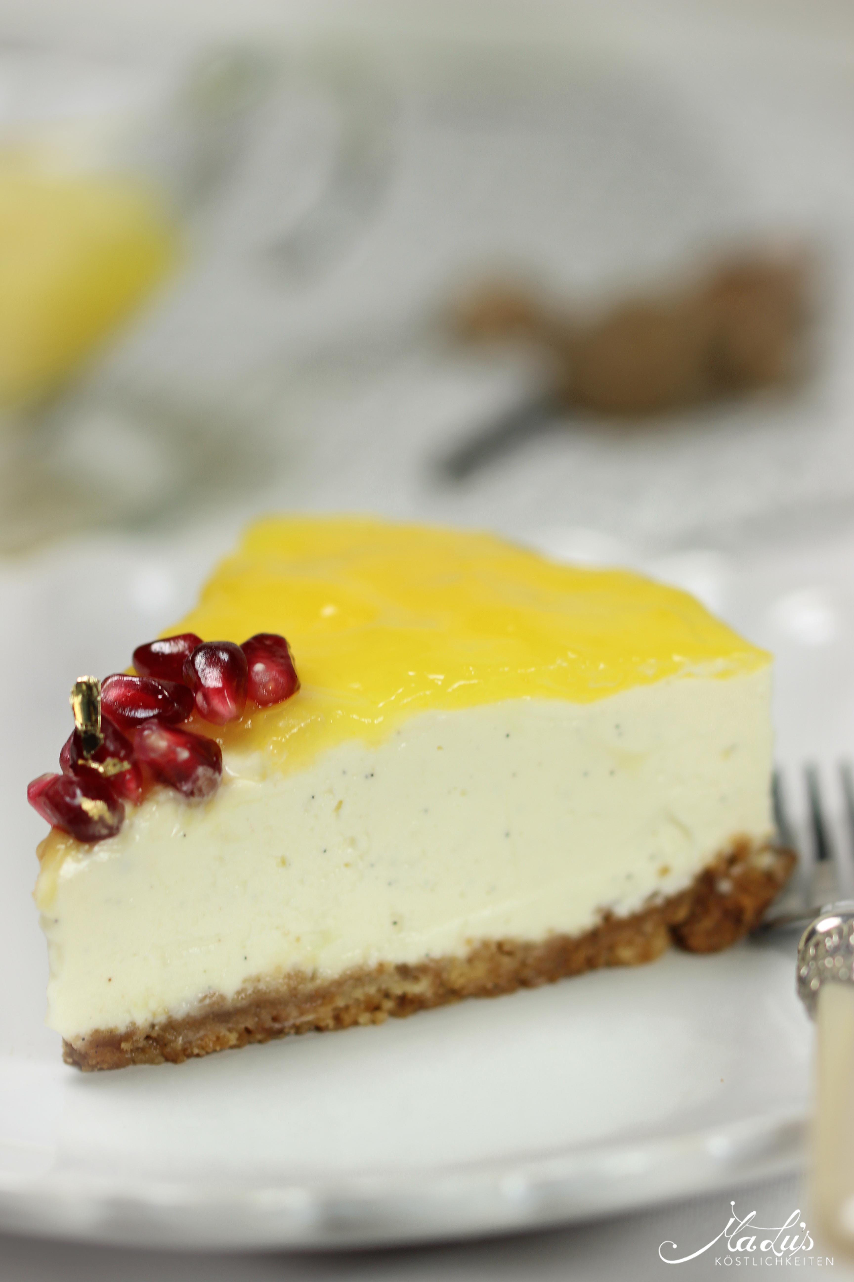 Vanille Cheesecake mit Orangen 62