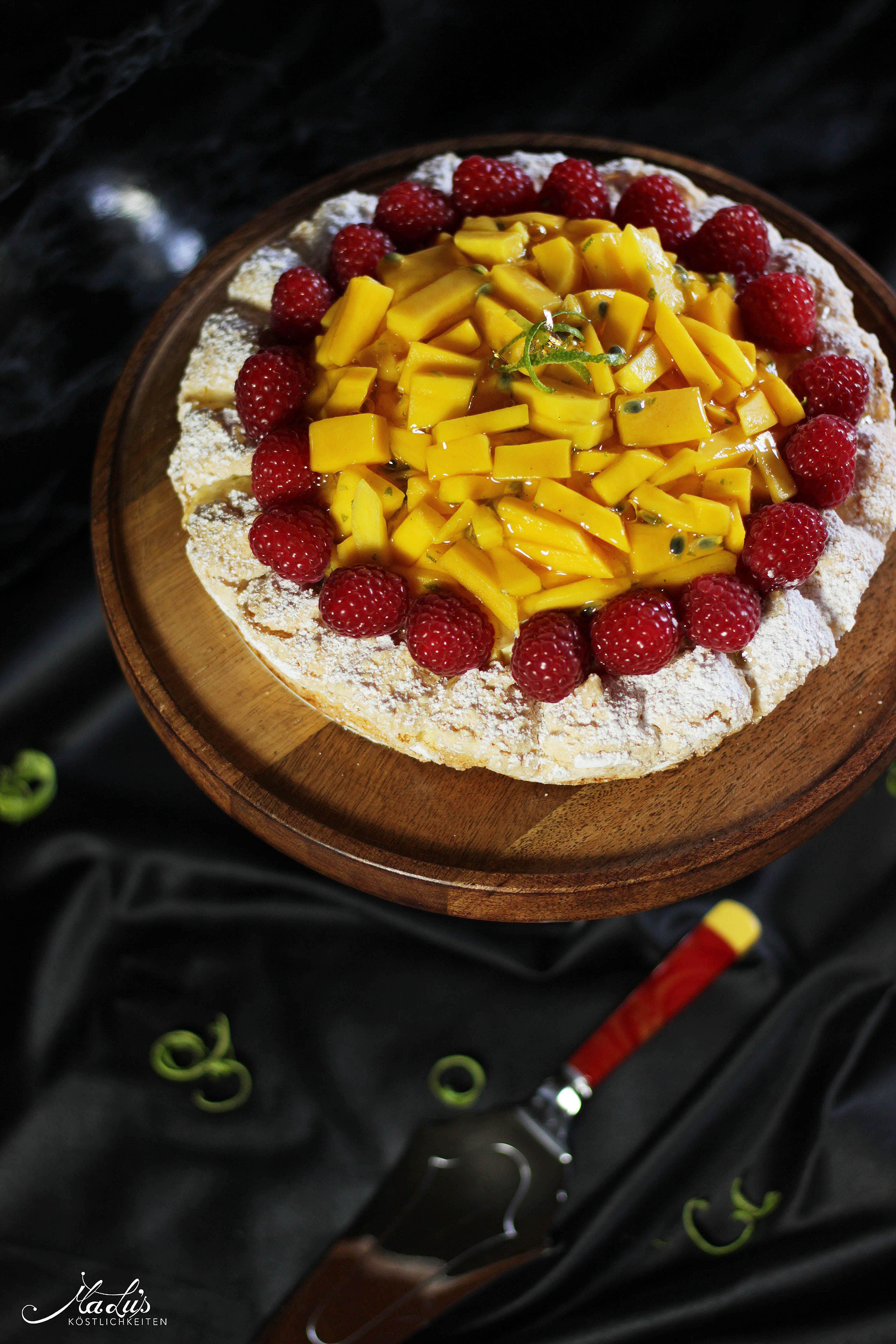 Mango-Kokosmakronen Torte | Maren Lubbe 1