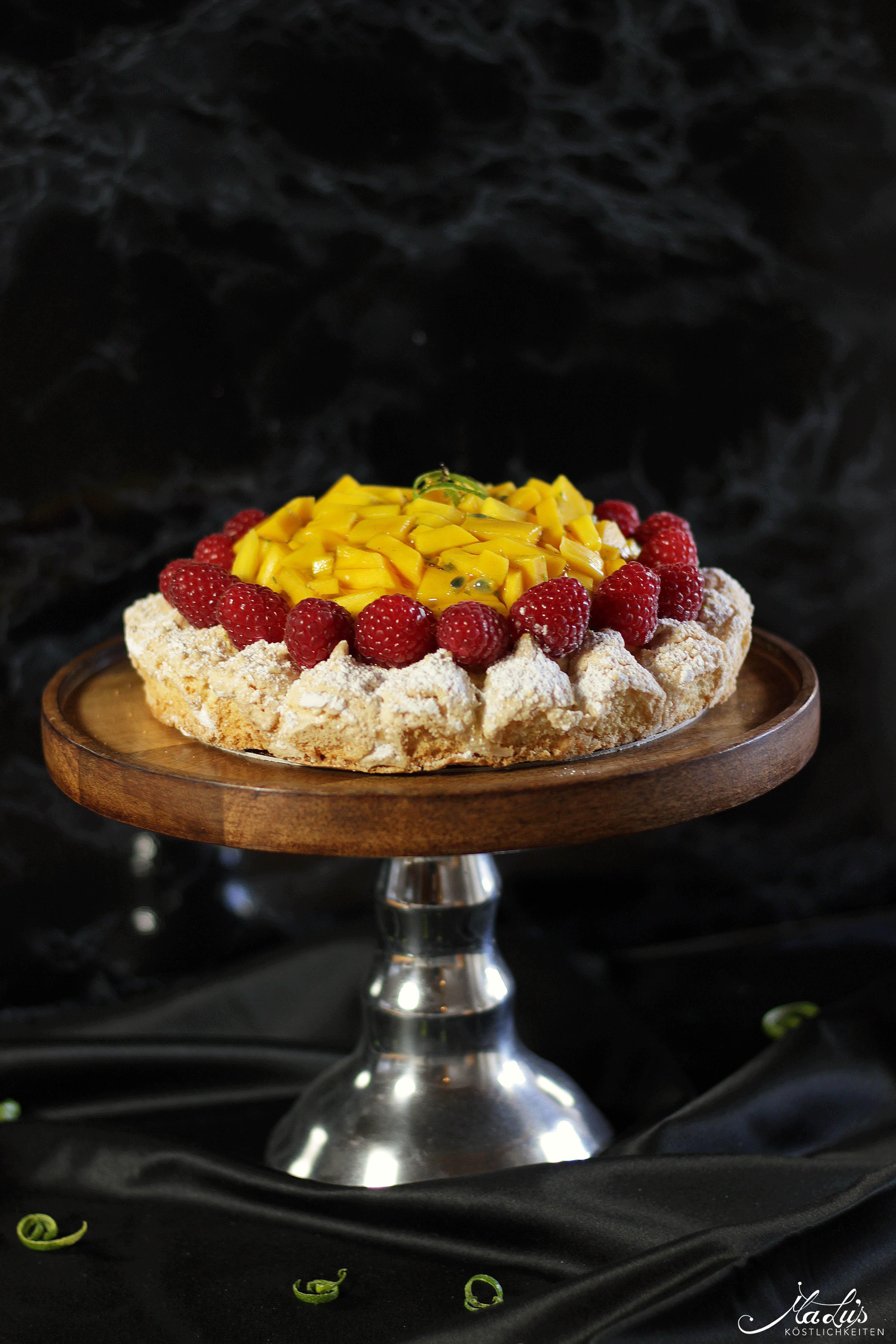 Mango-Kokosmakronen Torte | MaLu's Köstlichkeiten 5