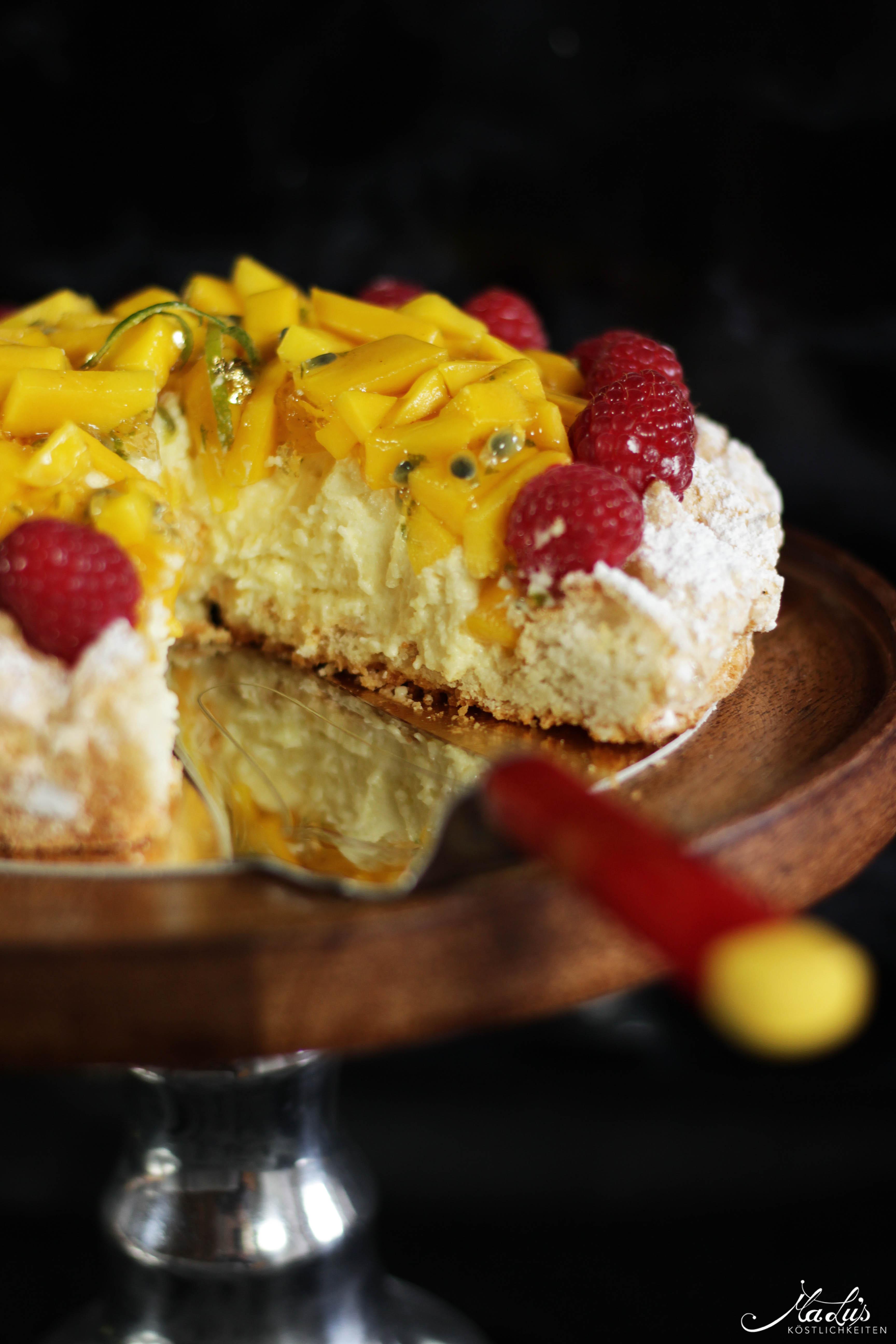 Mango-Kokosmakronen Torte | Maren Lubbe 7