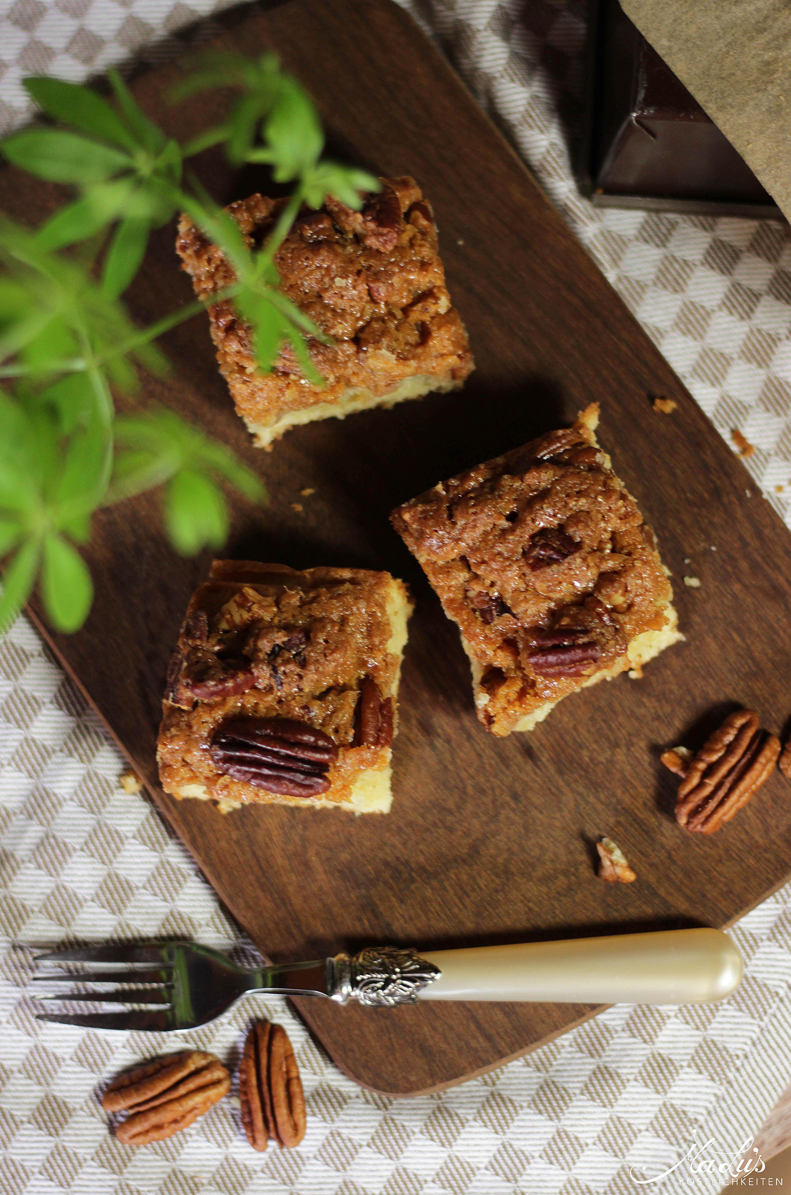 Pecancrumble Kuchen mit Dulce di Leche 6