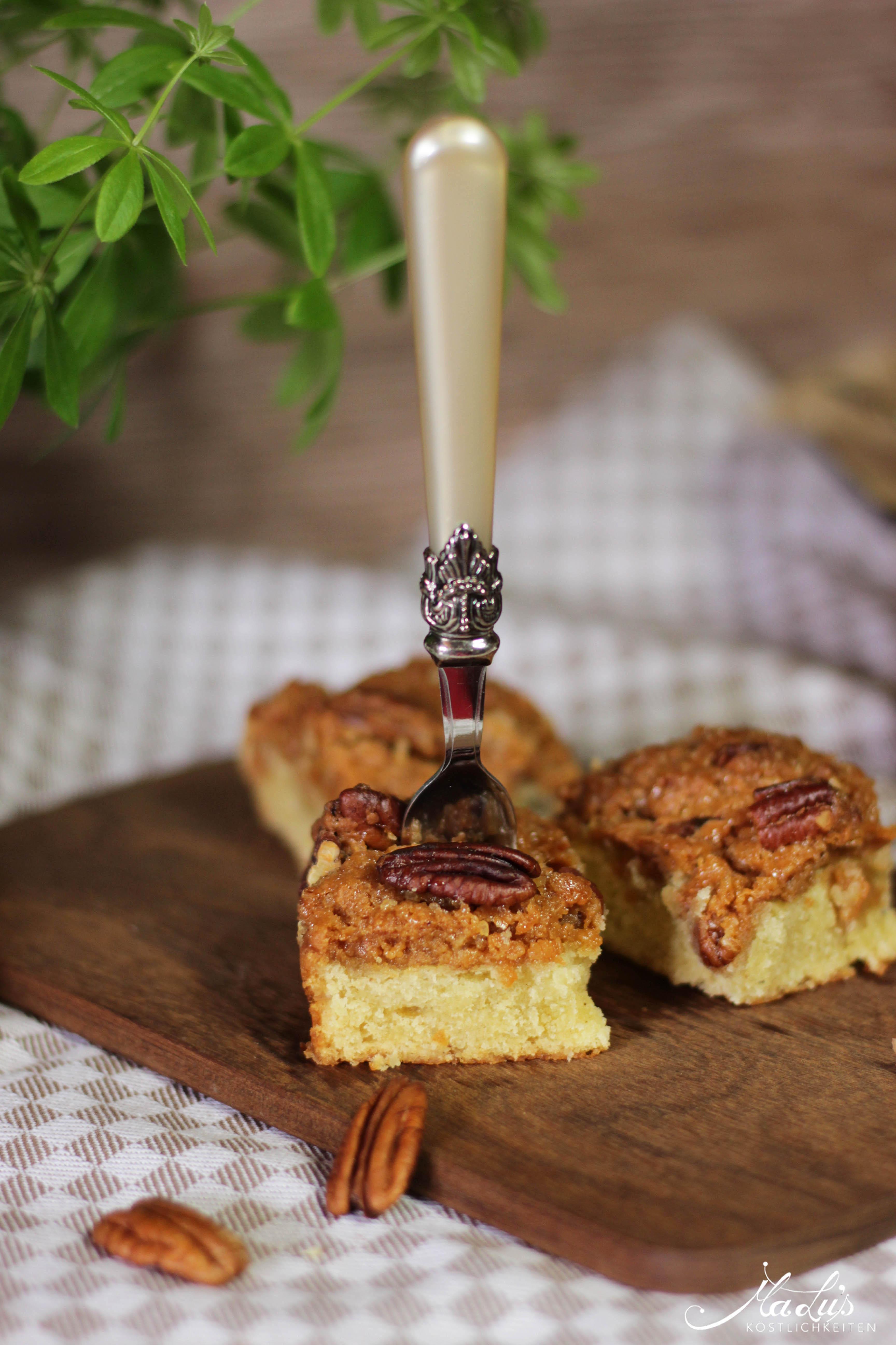 Pecancrumble Kuchen mit Dulce di Leche 7