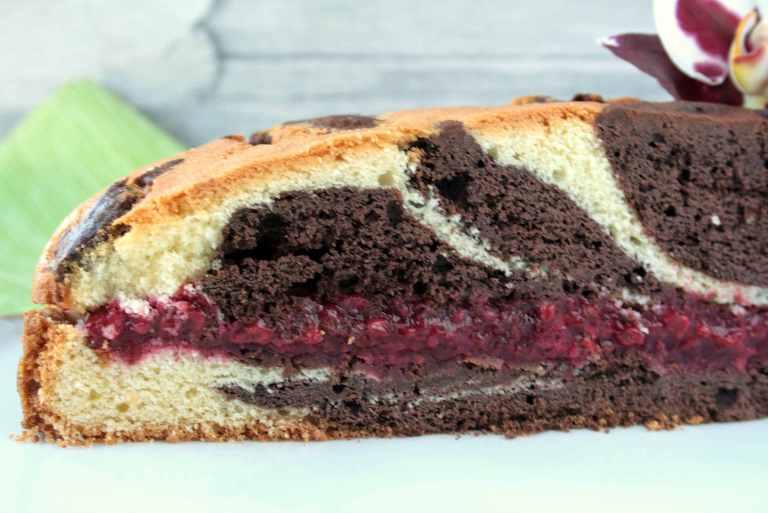 Gefüllter-Marmorkuchen - Krimi und Keks