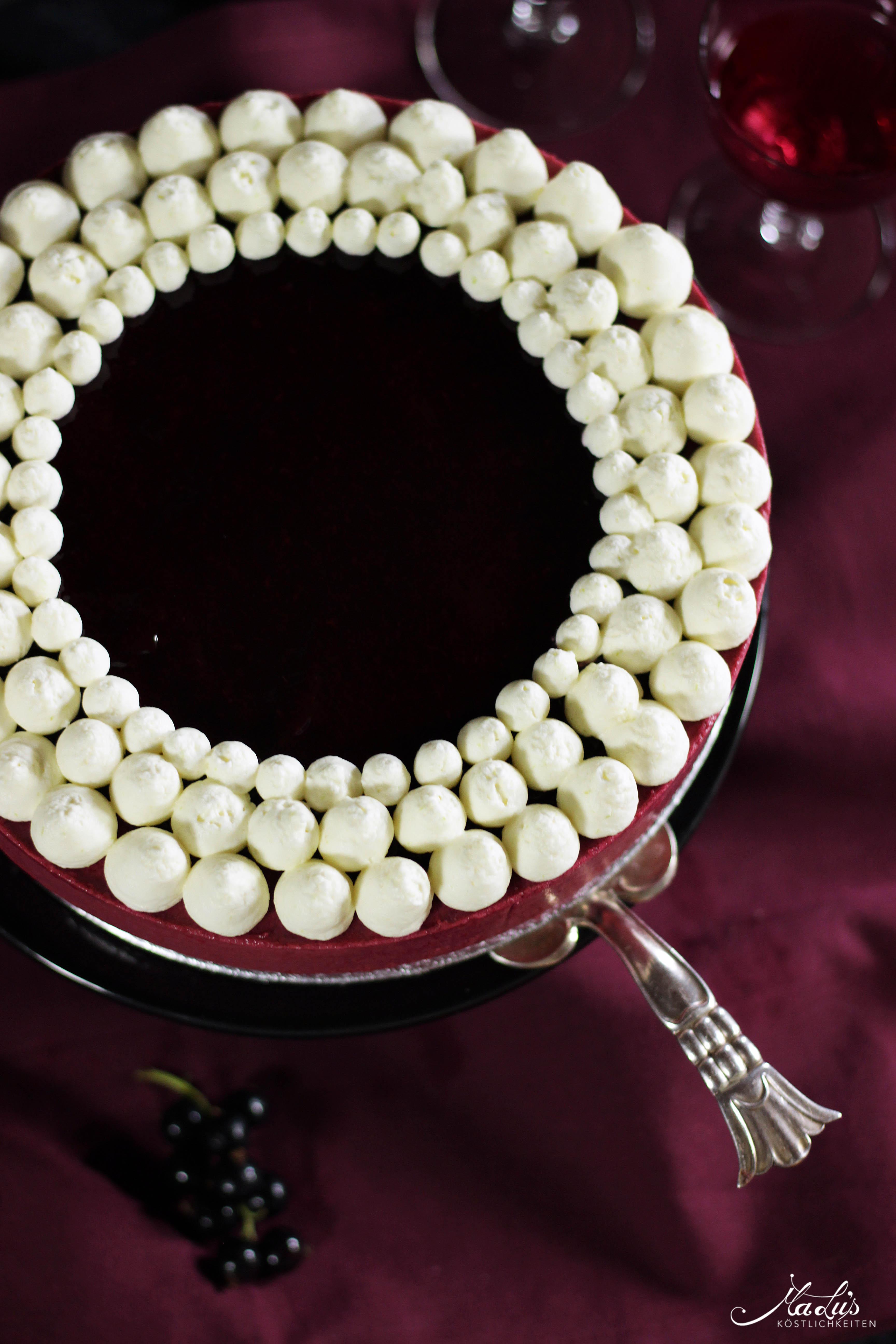 Johannisbeer-Mascarpone Torte