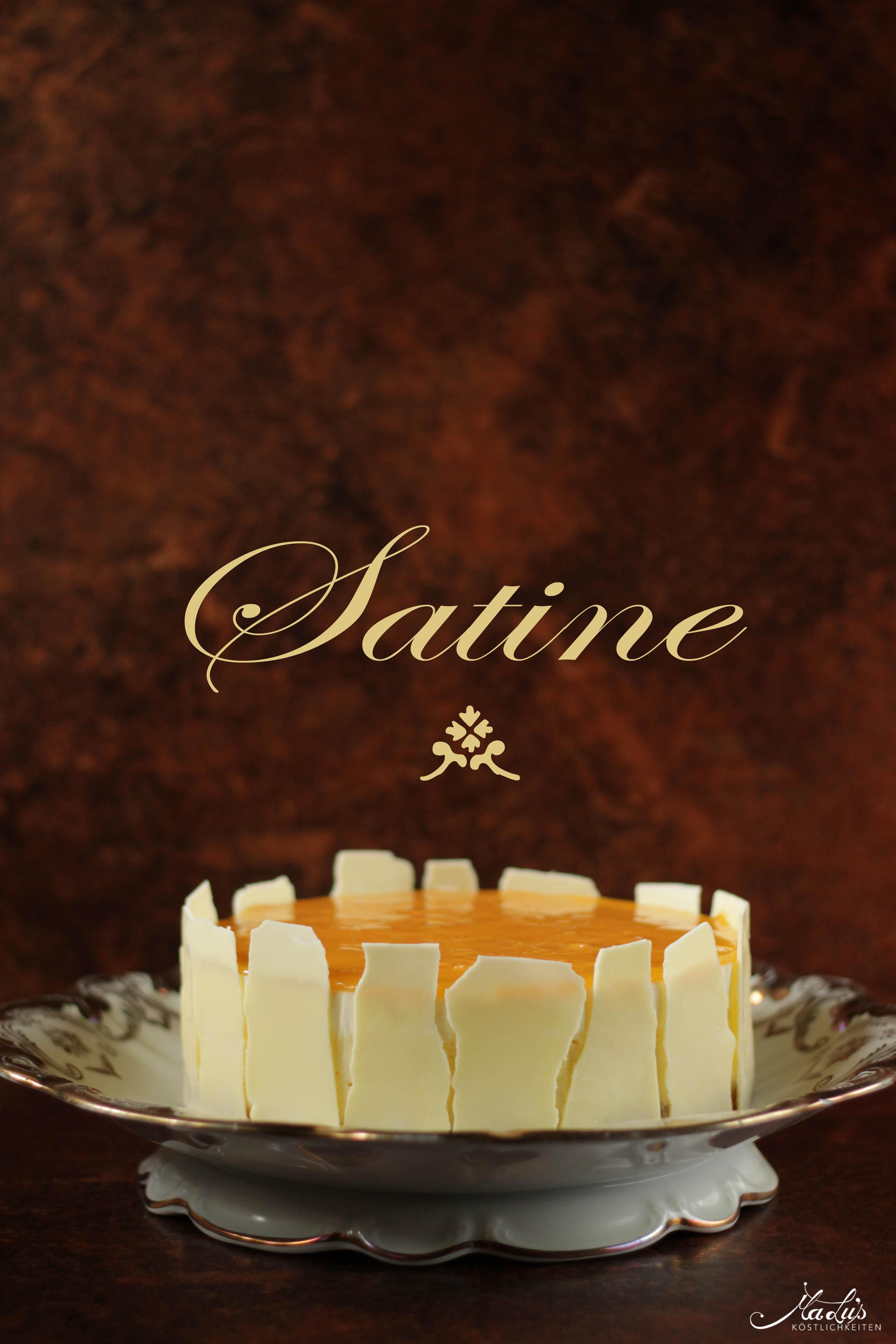 Satine-cheesecake nach Pierre Hermé