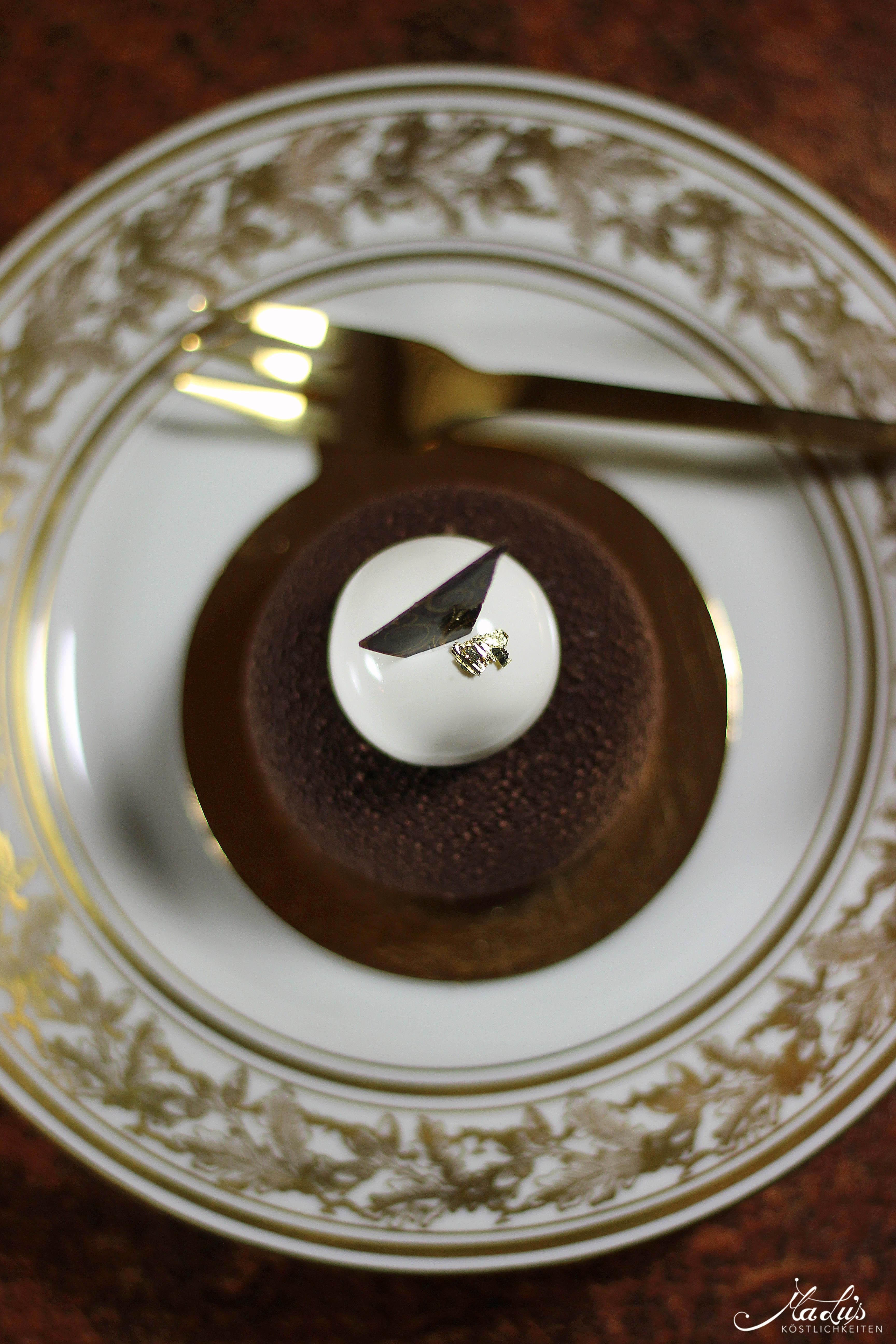 Mousse au chocolat Törtchen mit Timut Pfeffer