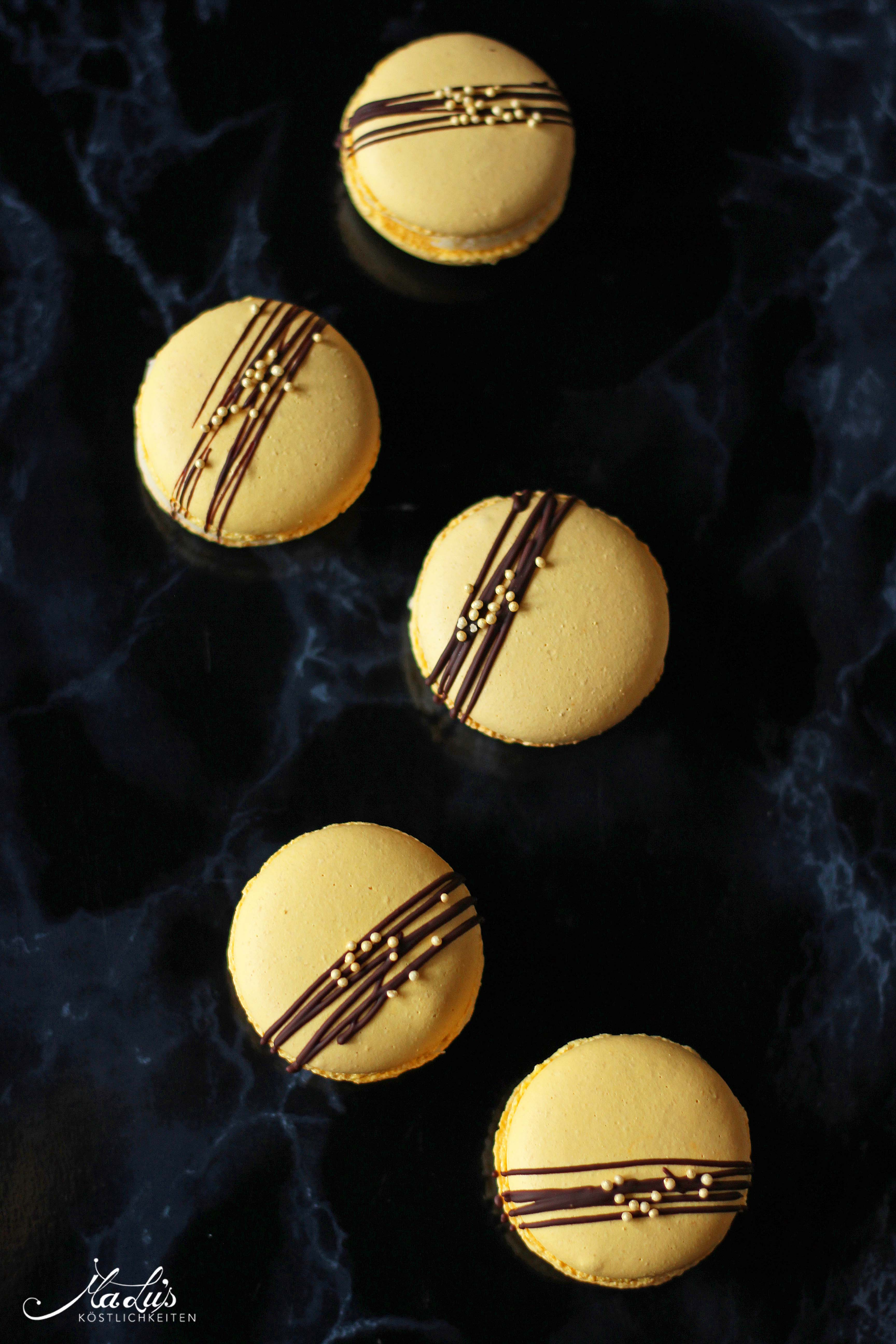 Macarons mit Zitrone, Timutpfeffer