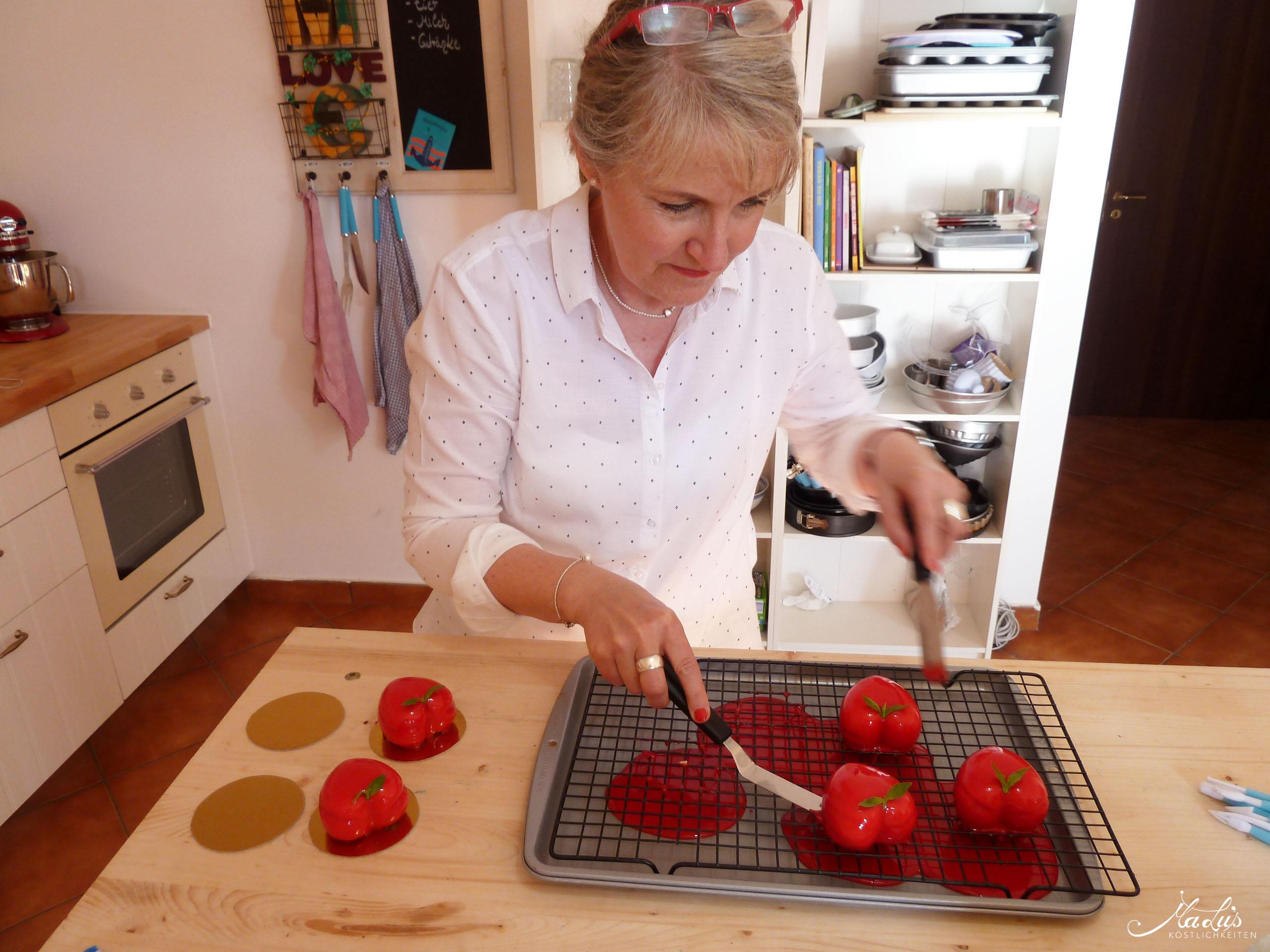 Erdbeertörtchen backen auf Sizilien
