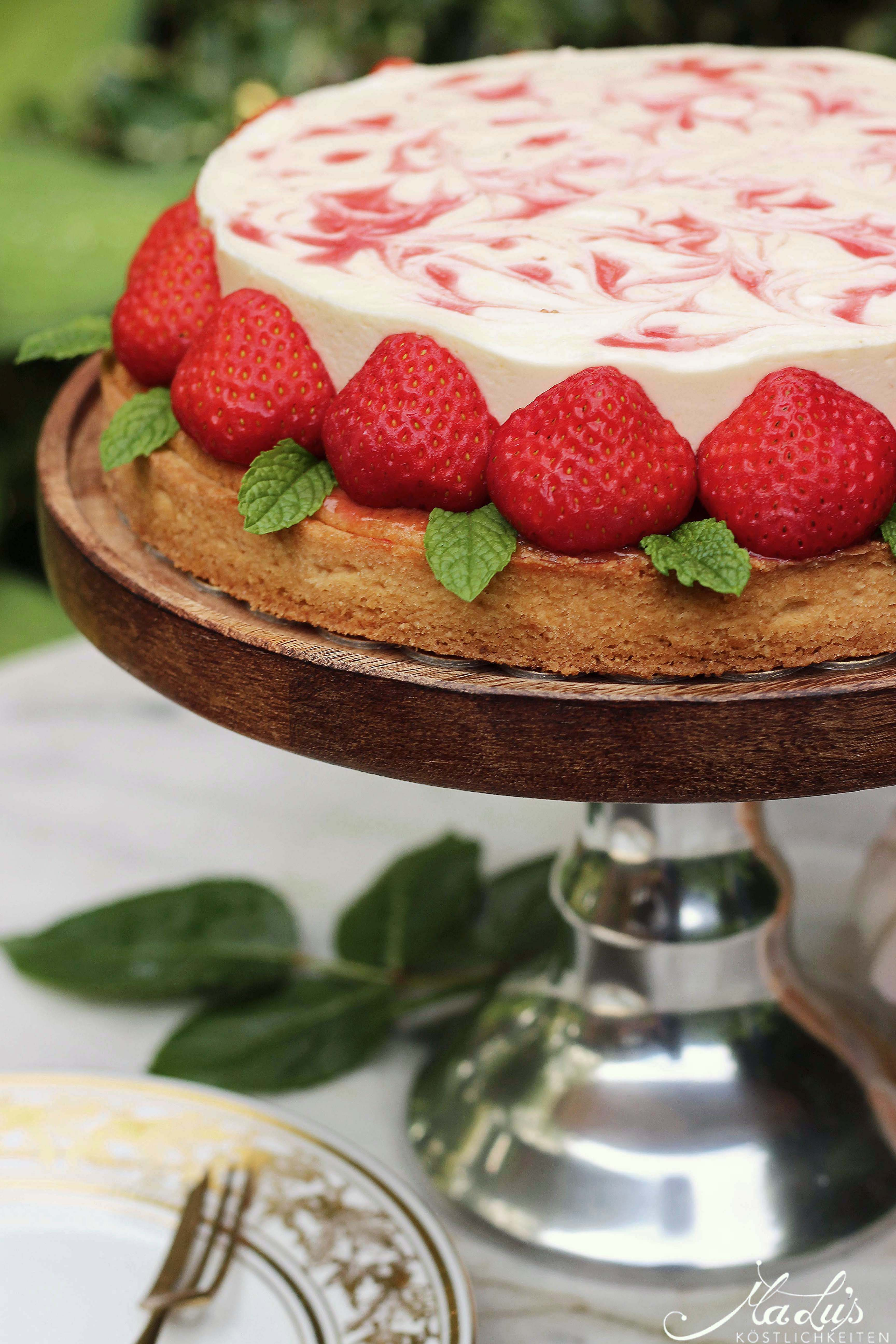 Erdbeer-Pfirsich Tarte