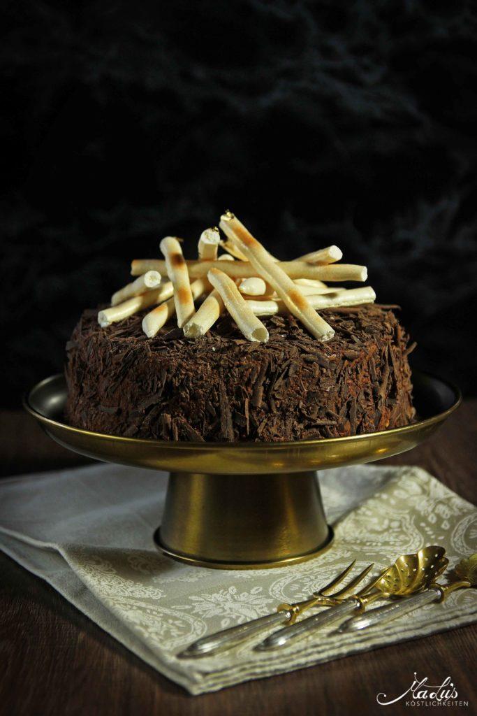 Schokoladen Baisertorte Merveilleux Malu S Kostlichkeiten