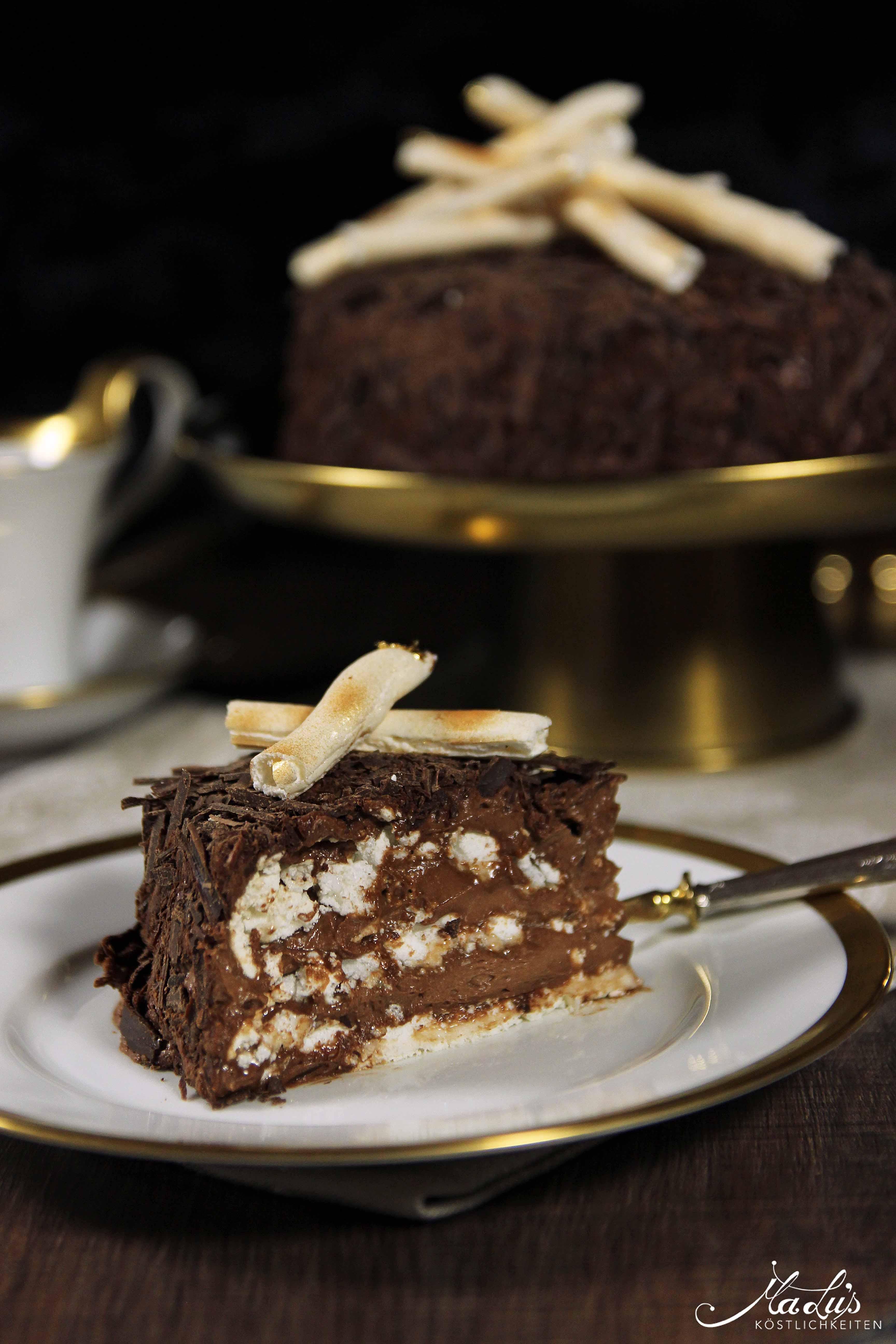 "Schokoladen-Baisertorte ""Merveilleux"""