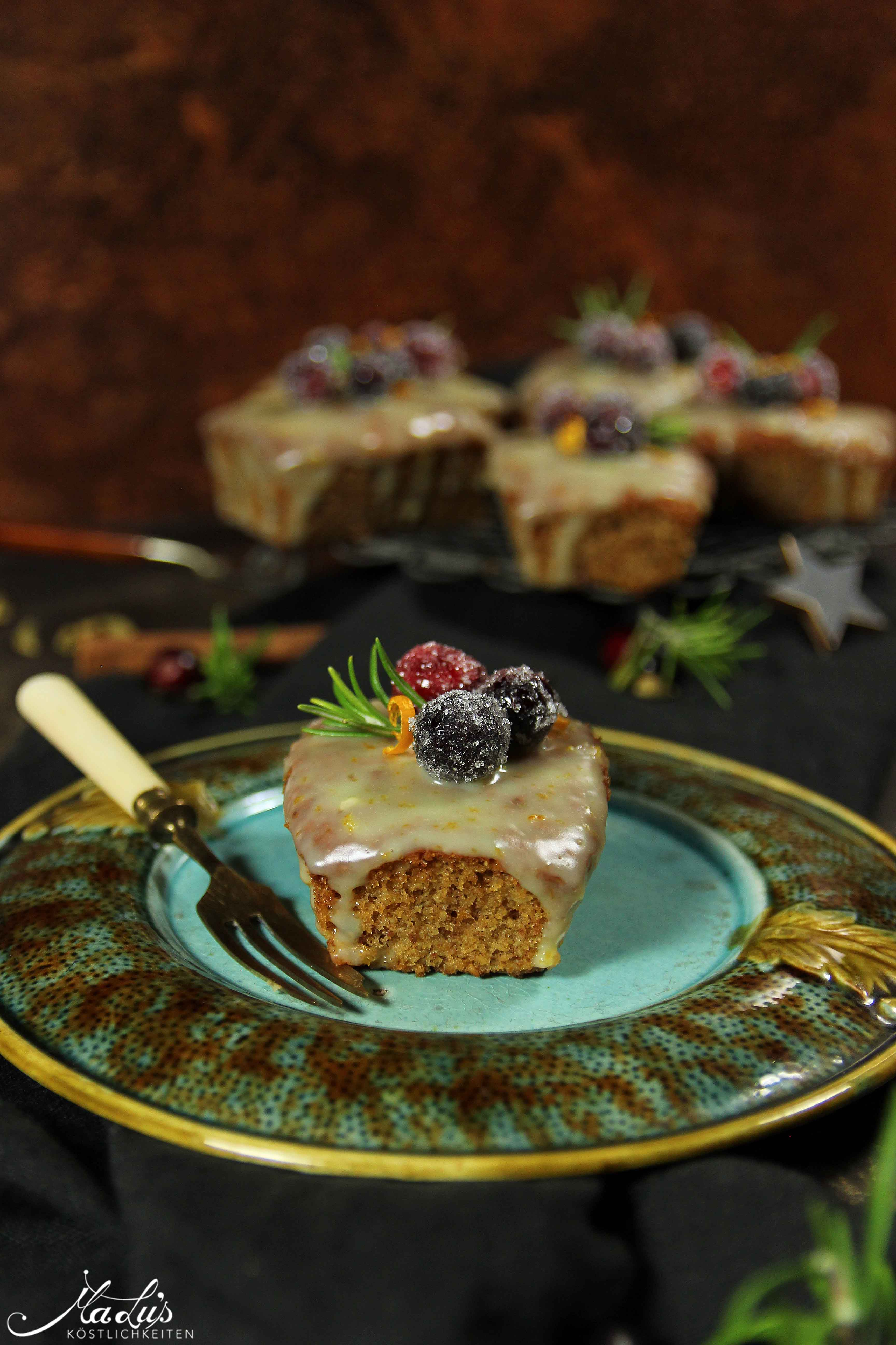 Spiced honey cakes