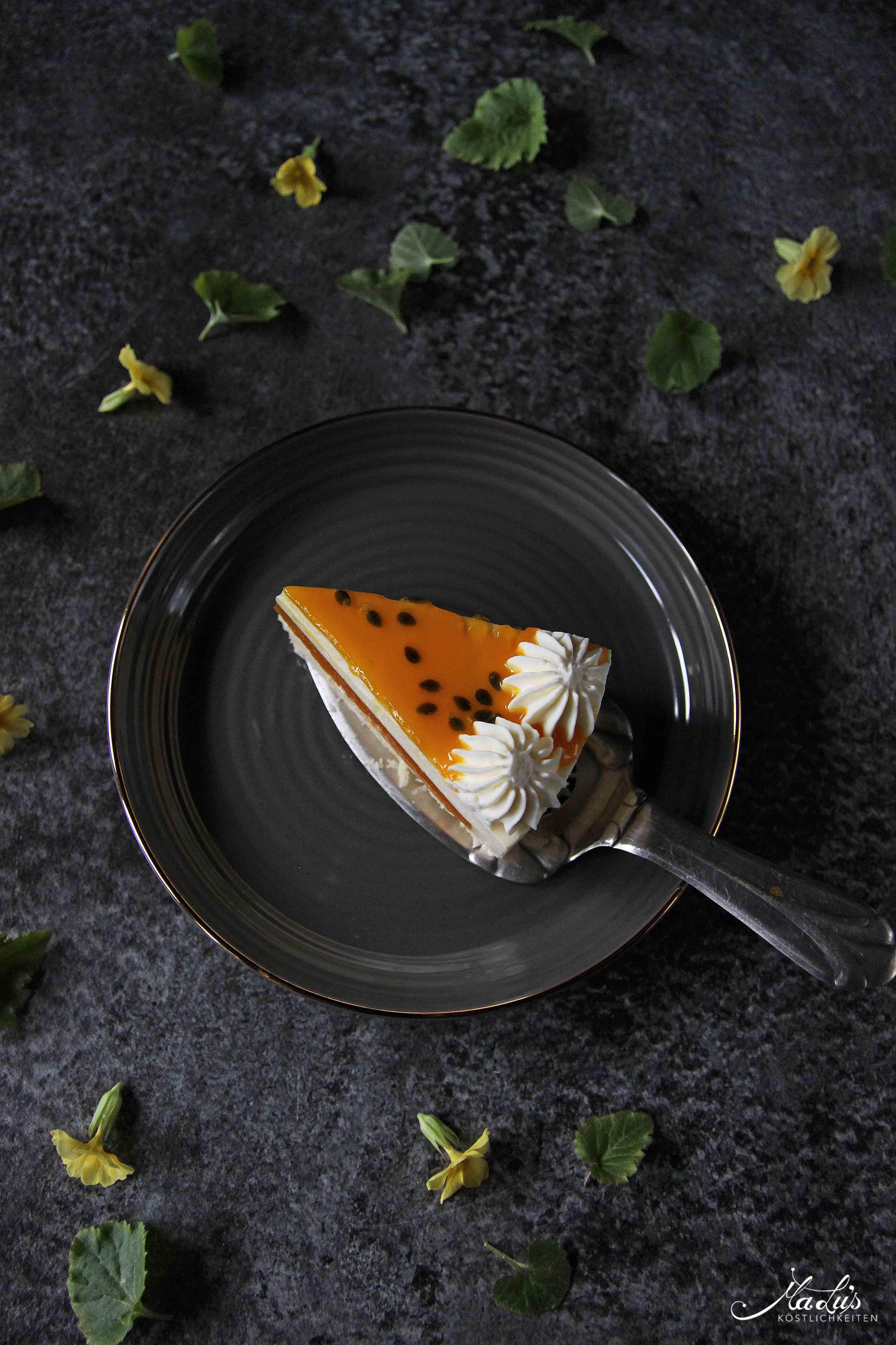 Fruchtig leichter Maracuja Cheesecake | MaLu's Köstlichkeiten