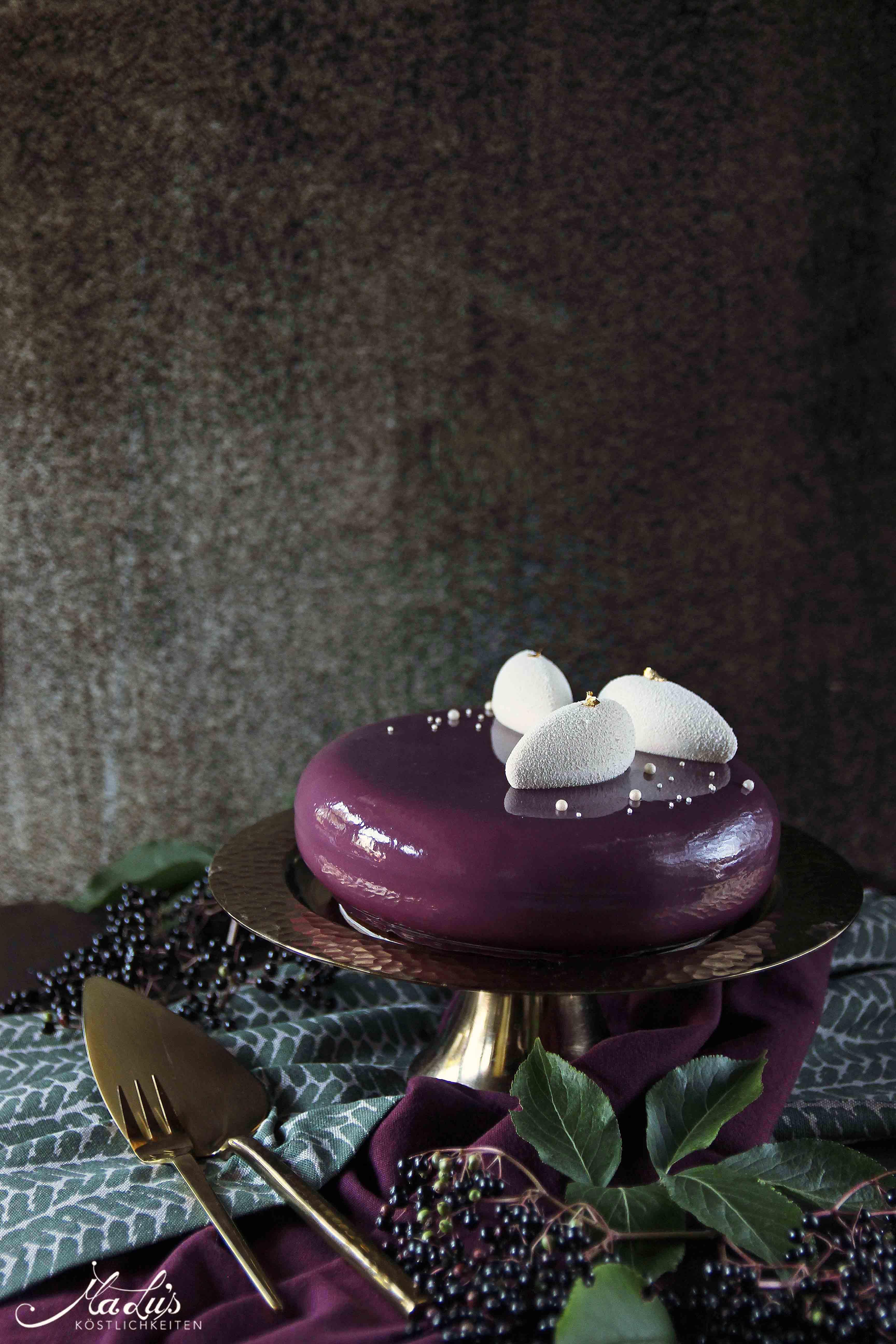 Holunderbeeren Torte - MaLu's Köstlichkeiten