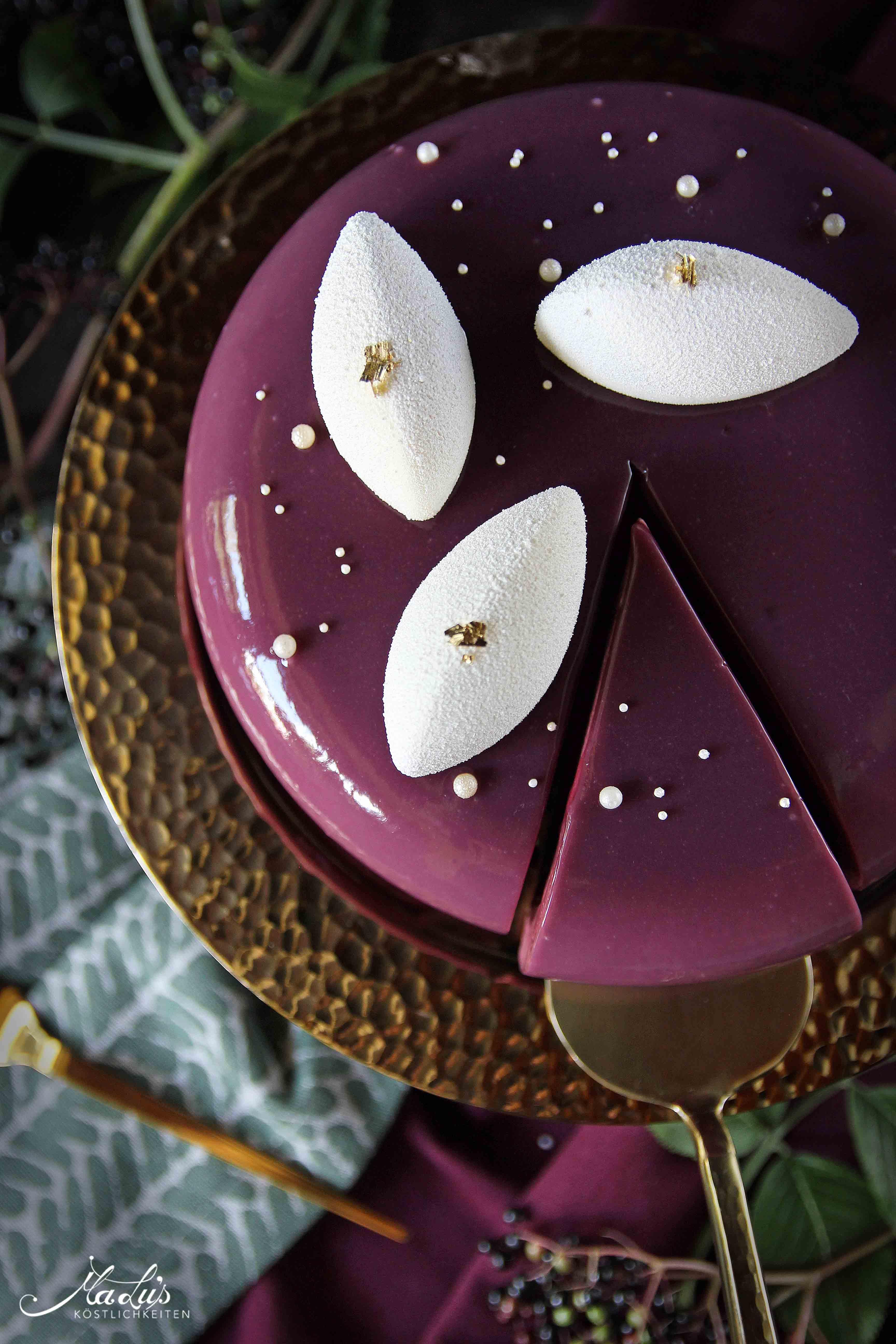 Holunderbeeren Torte
