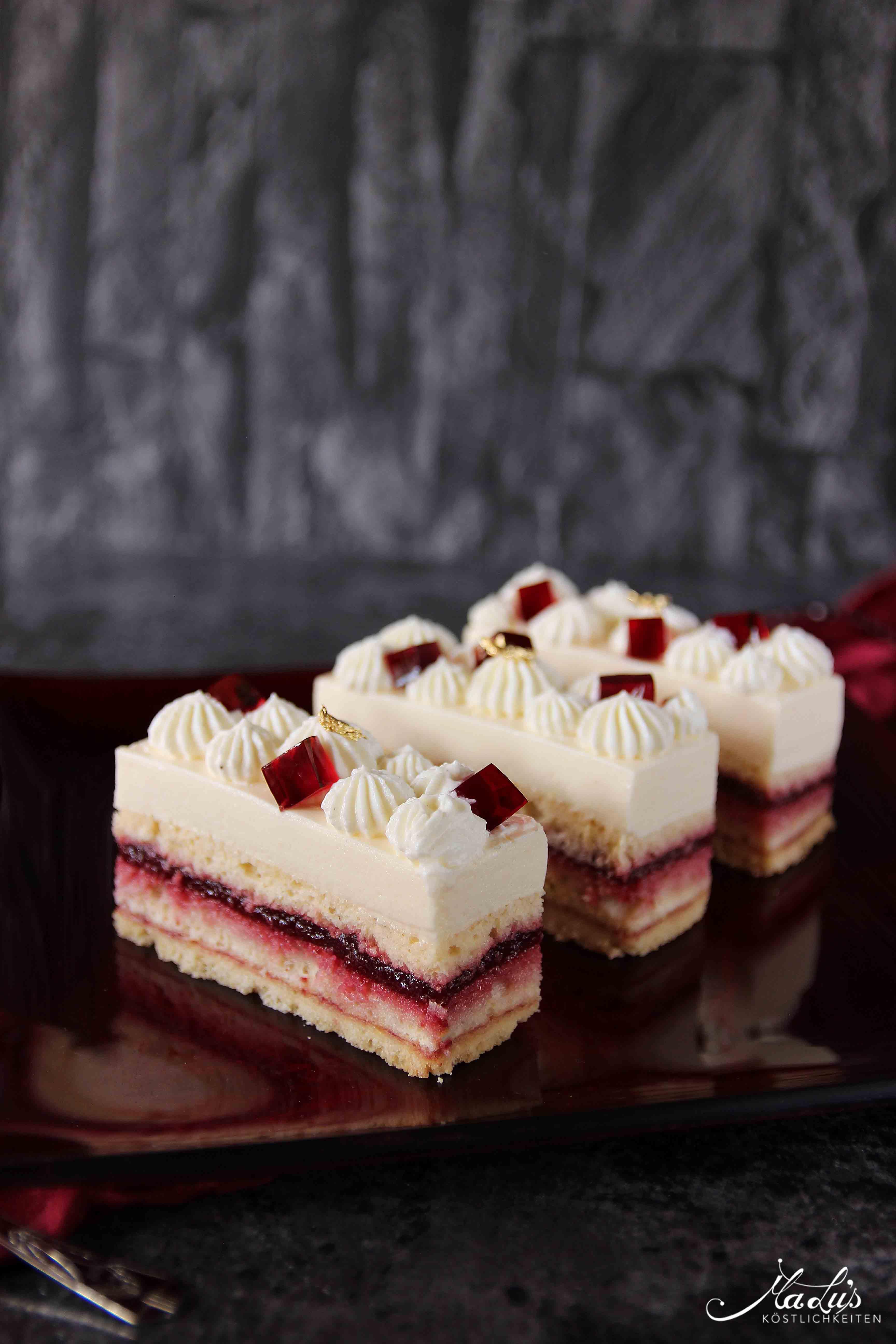 Kirsch-Cheesecake Schnitten