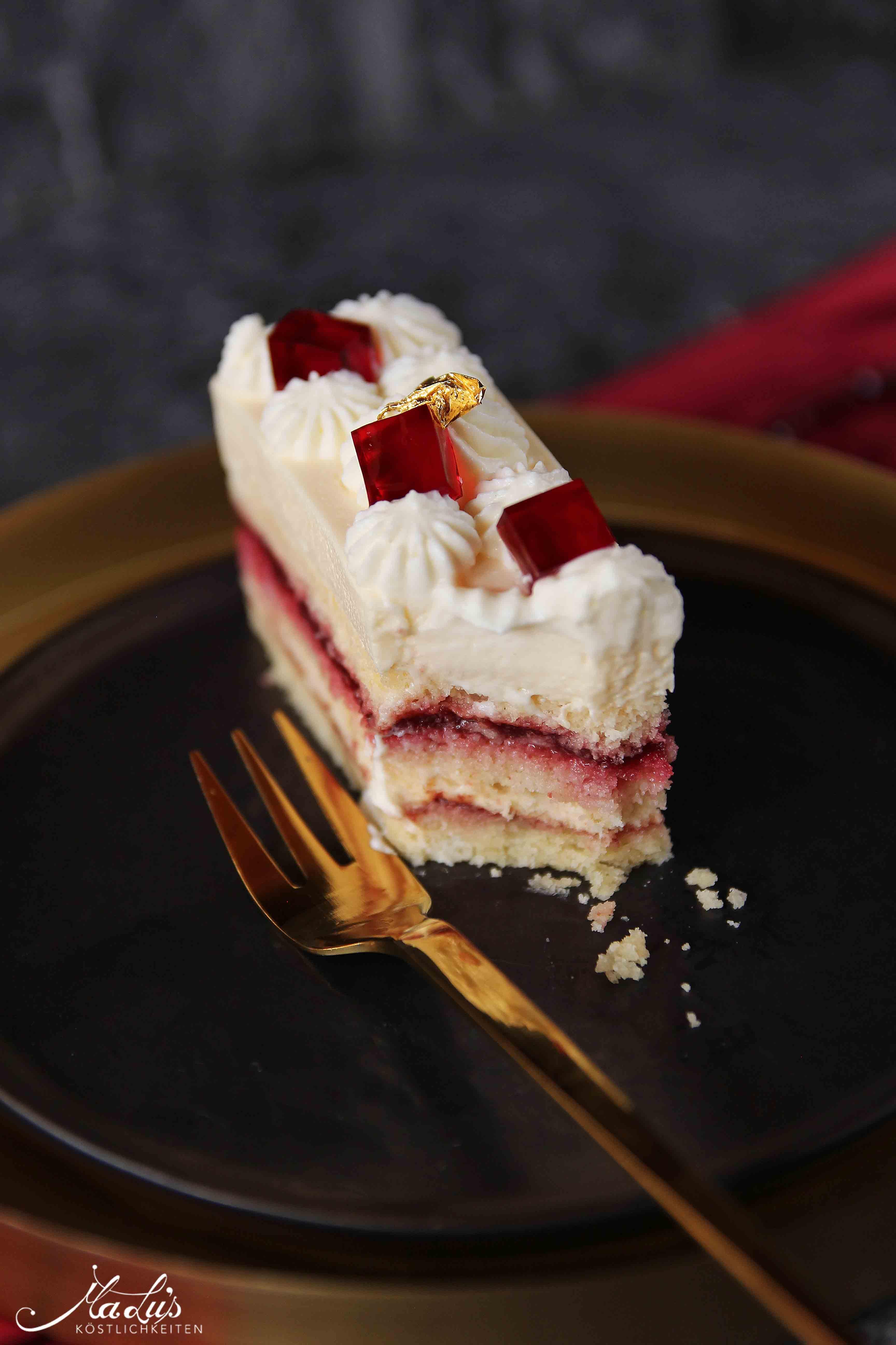 Kirsch Cheesecake Schnitten