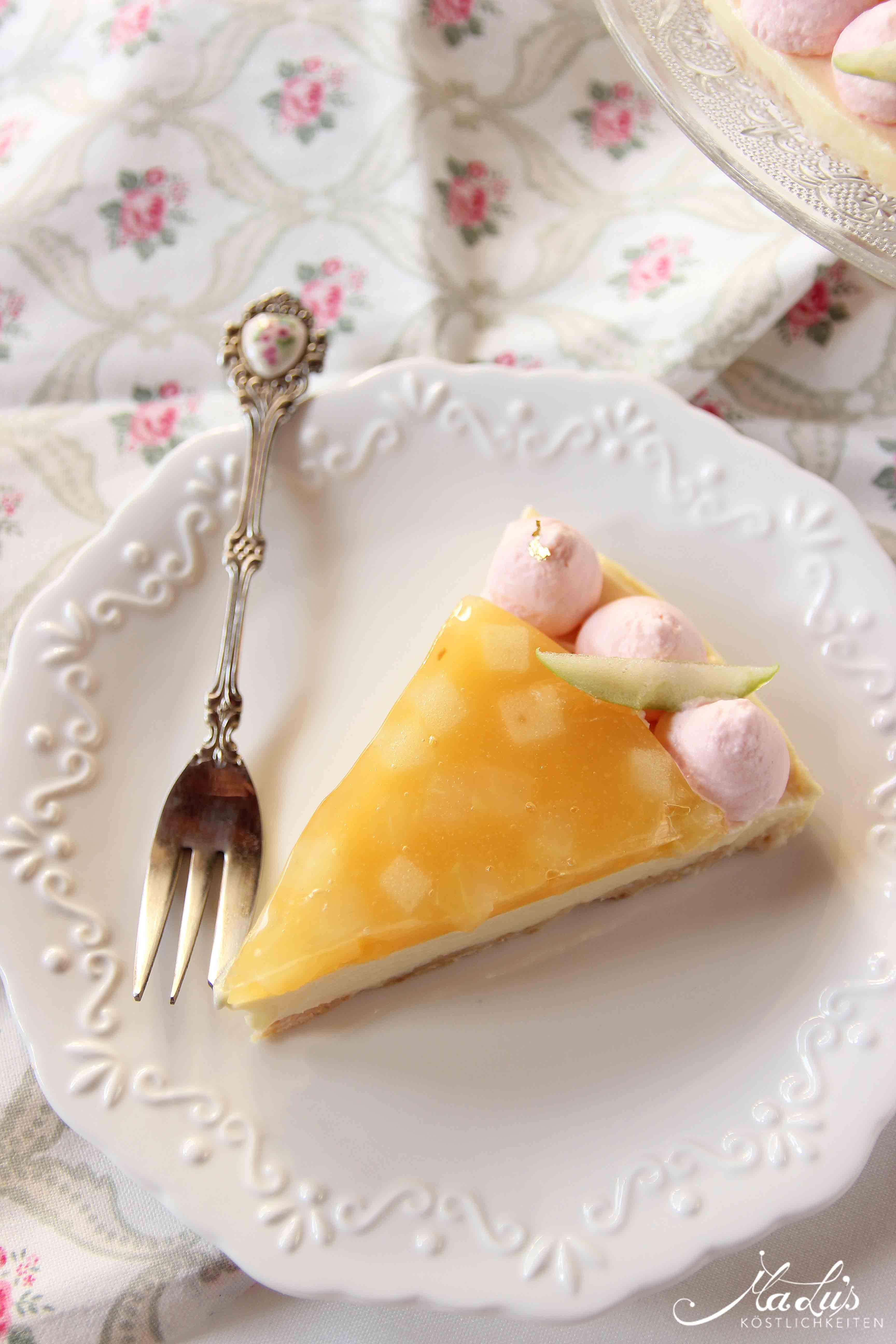 Fantastik Cheesecake Apfel – Quitte