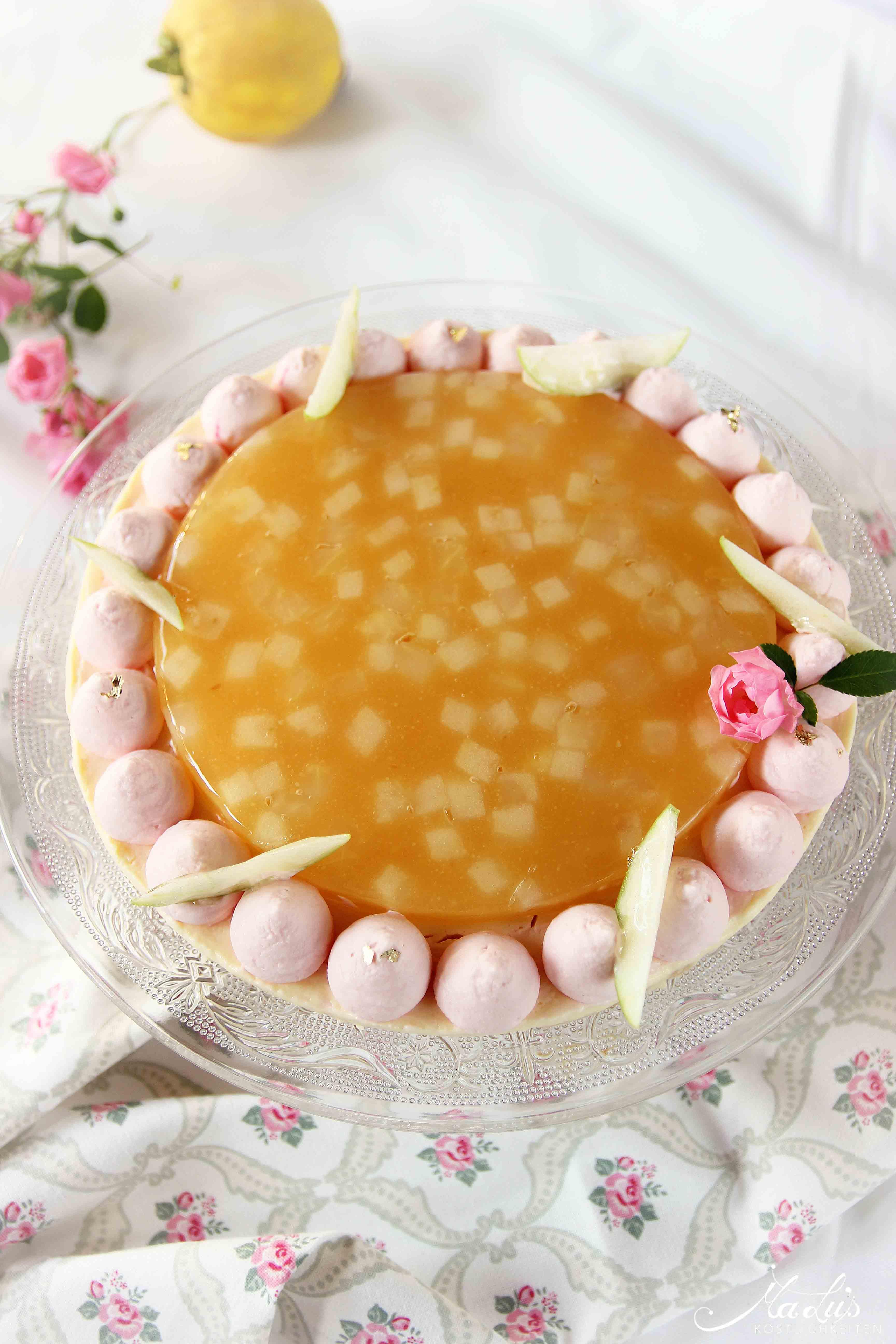 Fantastik Cheesecake Apfel-Quitte