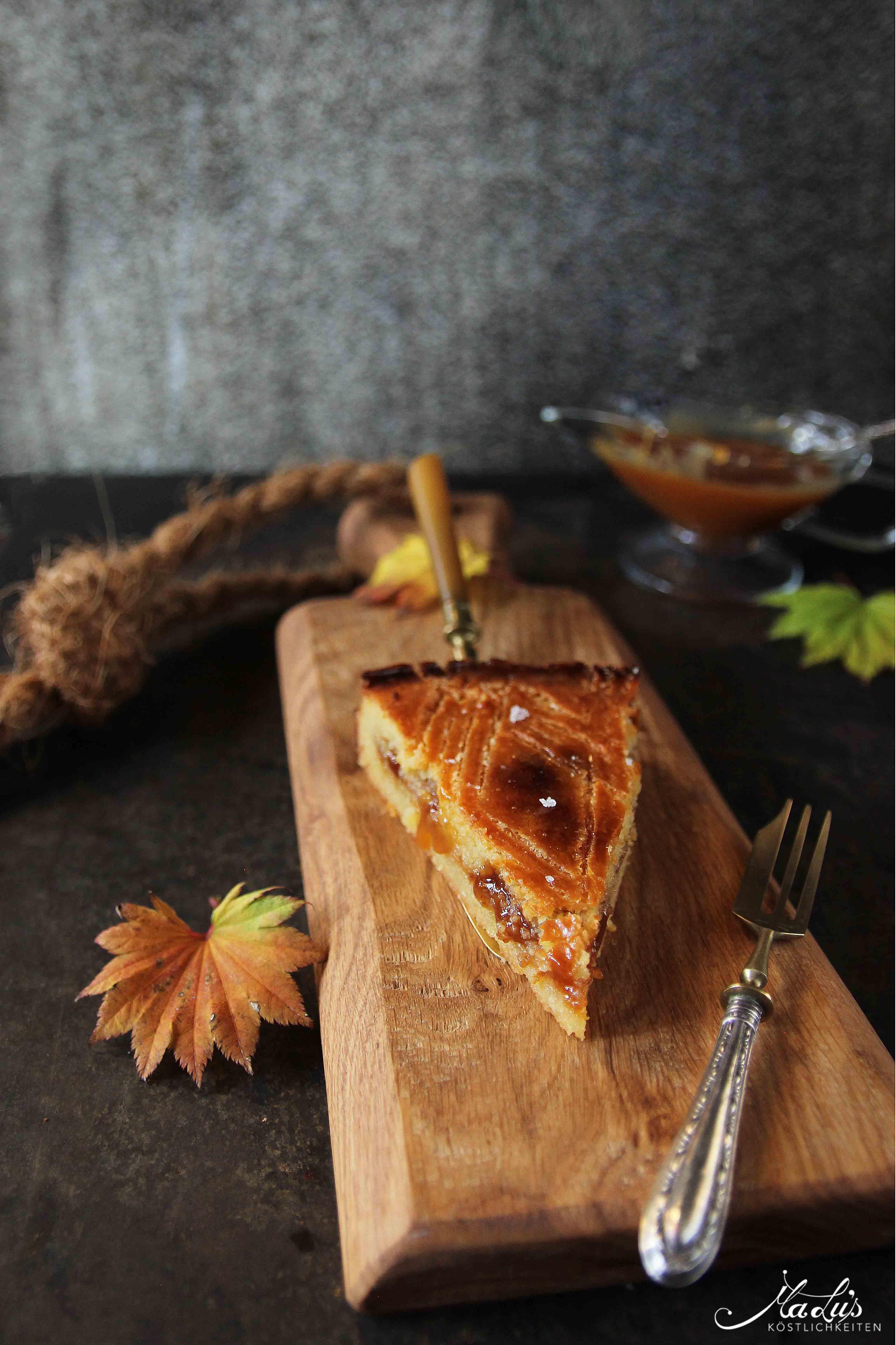 Gâteau Breton mit Salzkaramell