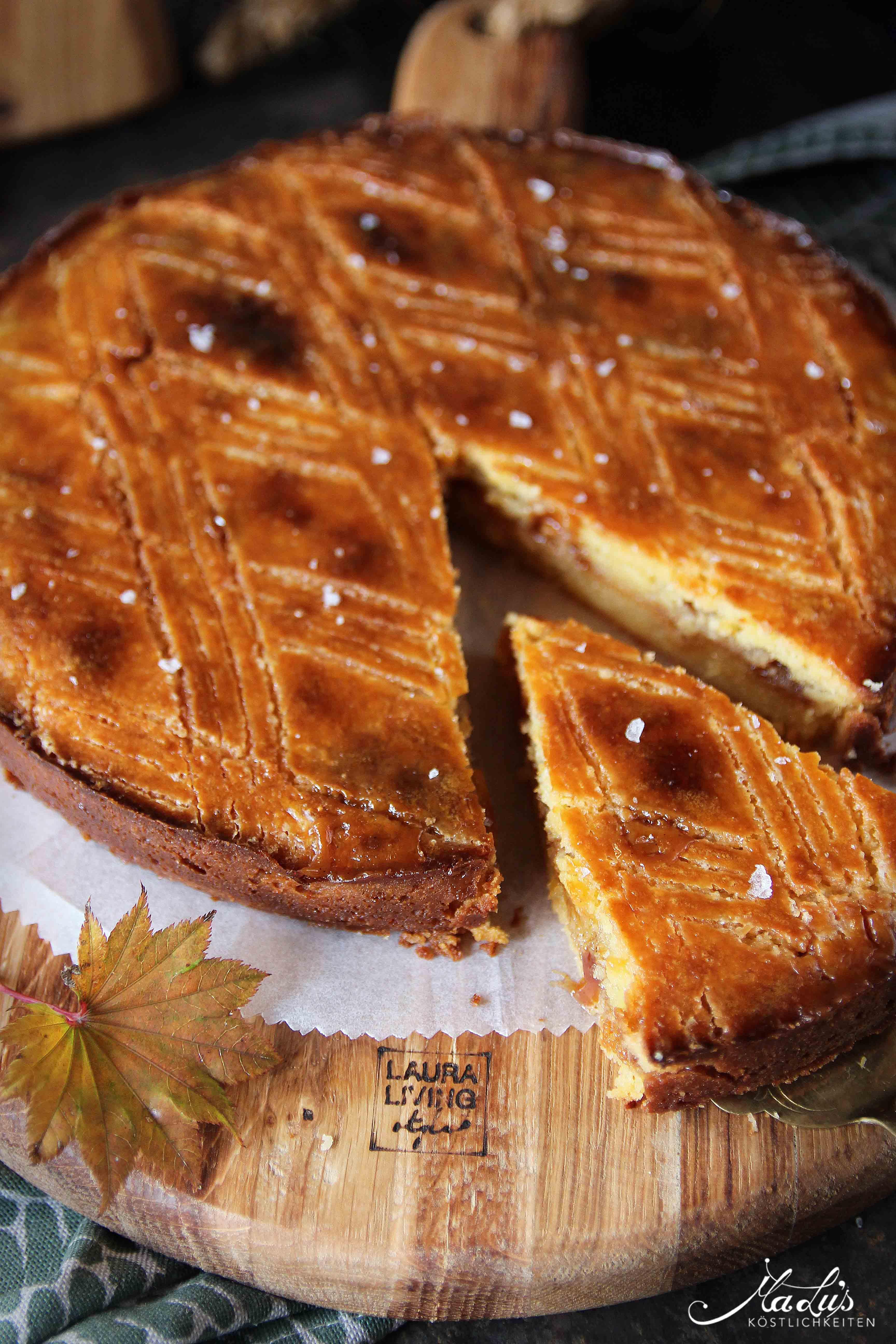 Gâteau Breton mit Salzkaramell nach Christophe Adam