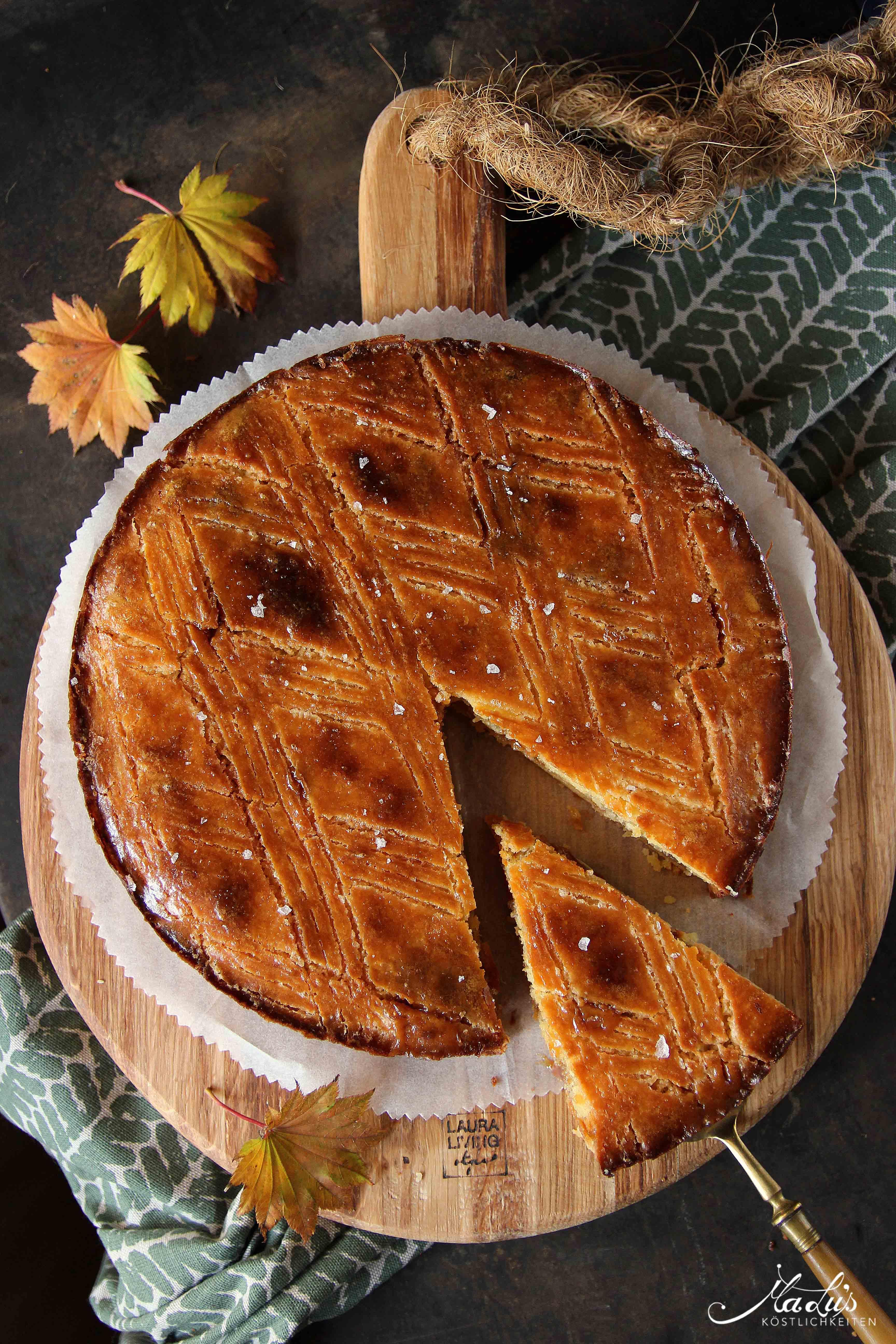 Gâteau Breton Caramel de Christophe Adam