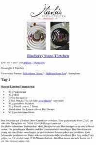 Blueberry Stone Törtchen Rezept - Maren Lubbe