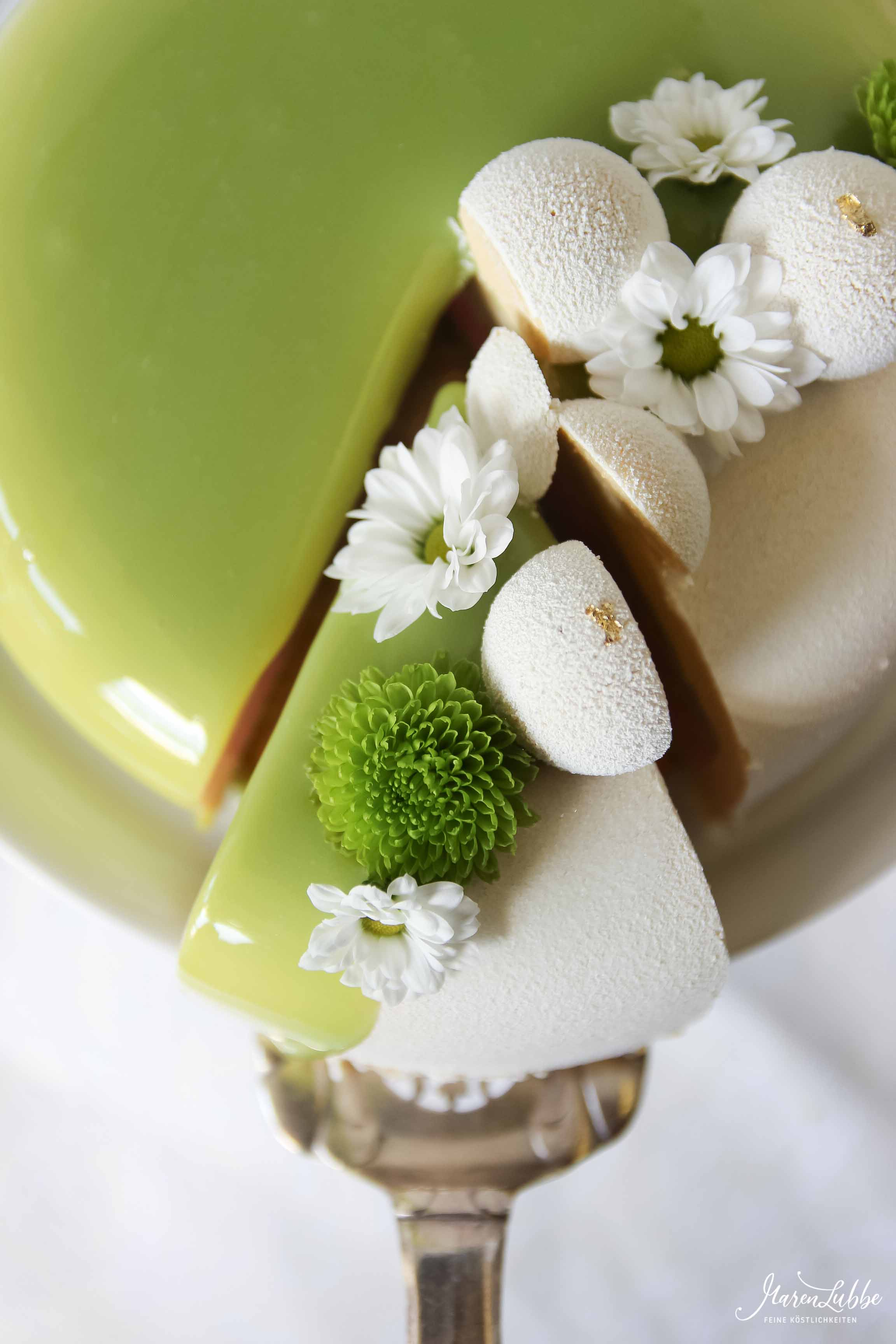 Green Apple - Apfelmousse Torte