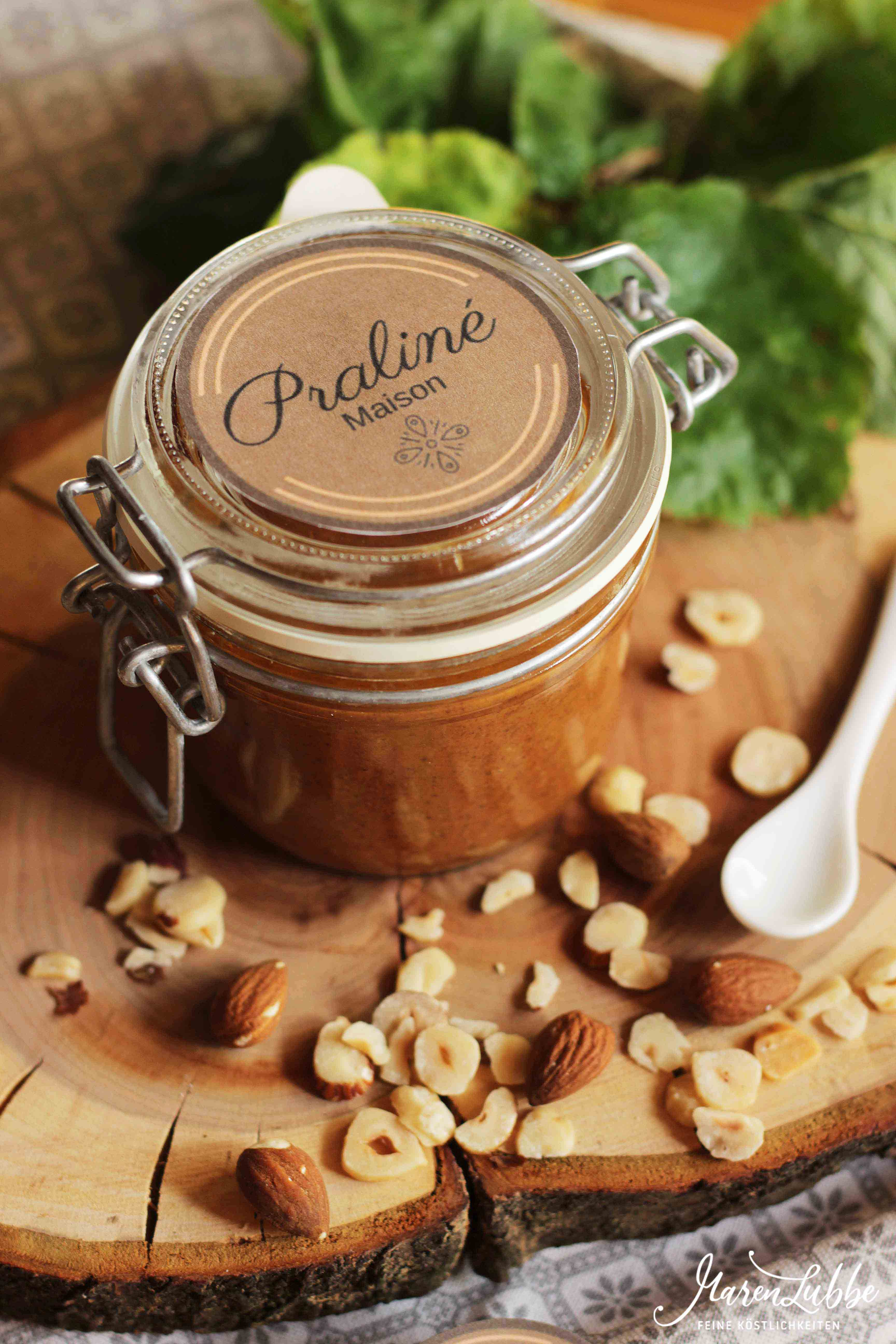Praliné - Hausgemachte Nusscreme für die Pâtisserie