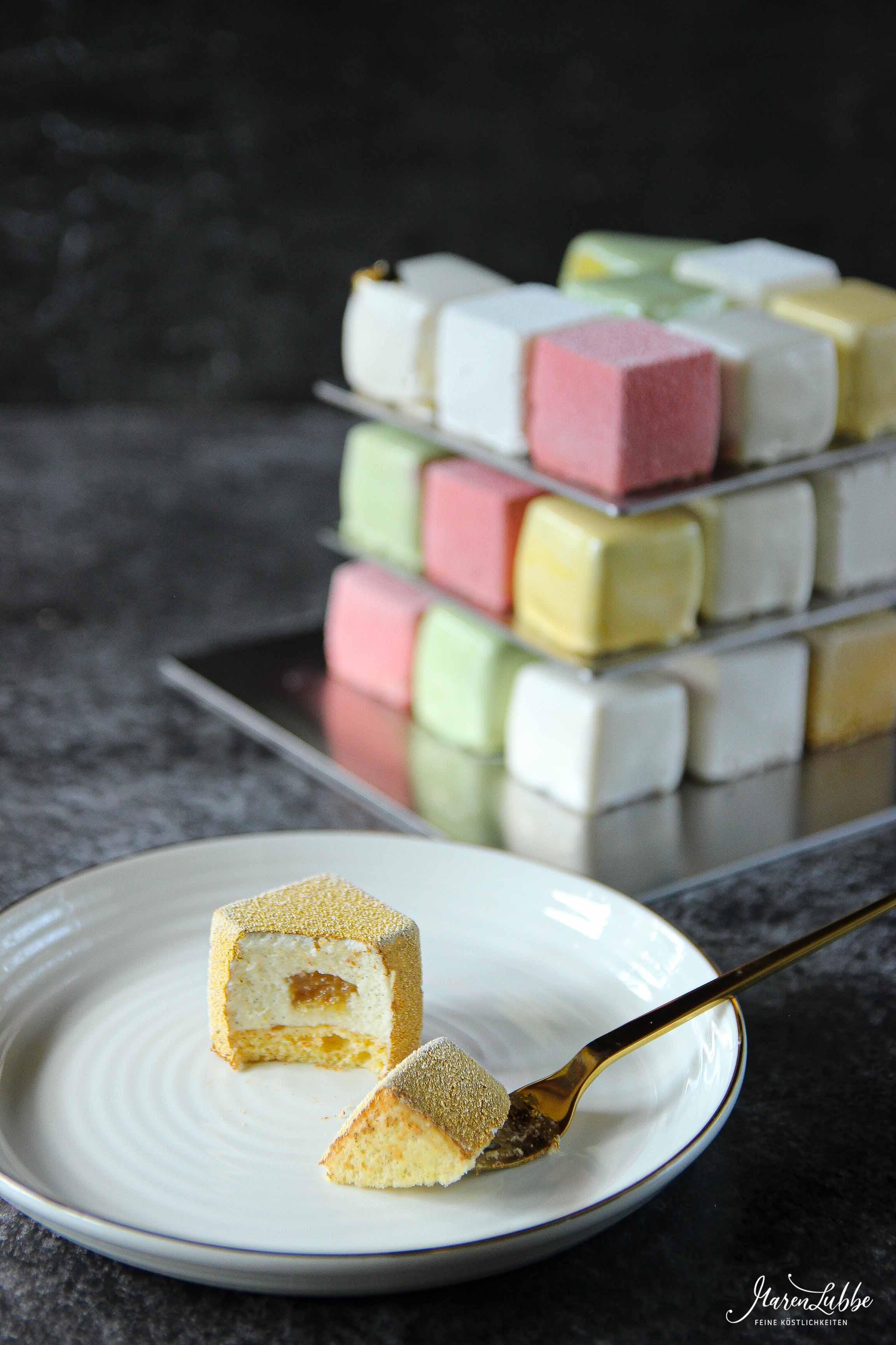 Rubik's Cube Würfel zum Vernaschen